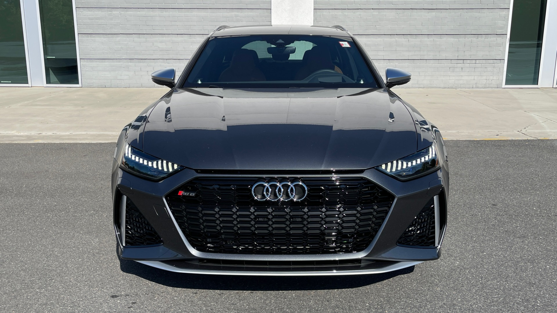 Used 2021 Audi RS 6 AVANT WAGON / EXEC PKG / CARBON OPTIC / B&O SND / DRVR ASST / SPRT EXH for sale Sold at Formula Imports in Charlotte NC 28227 7