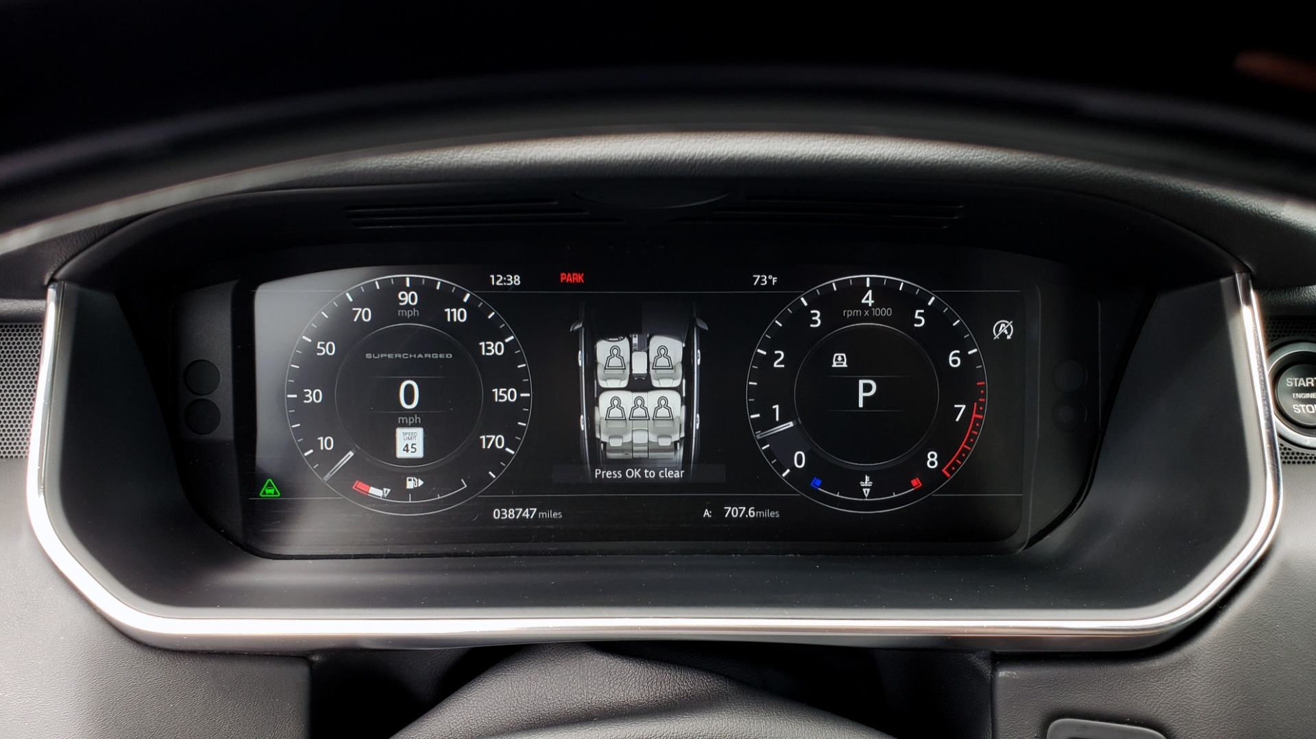 Used 2018 Land Rover RANGE ROVER SUPERCHARGED V8 / DRIVE PRO / NAV / PANO-ROOF / REARVIEW for sale $84,995 at Formula Imports in Charlotte NC 28227 44