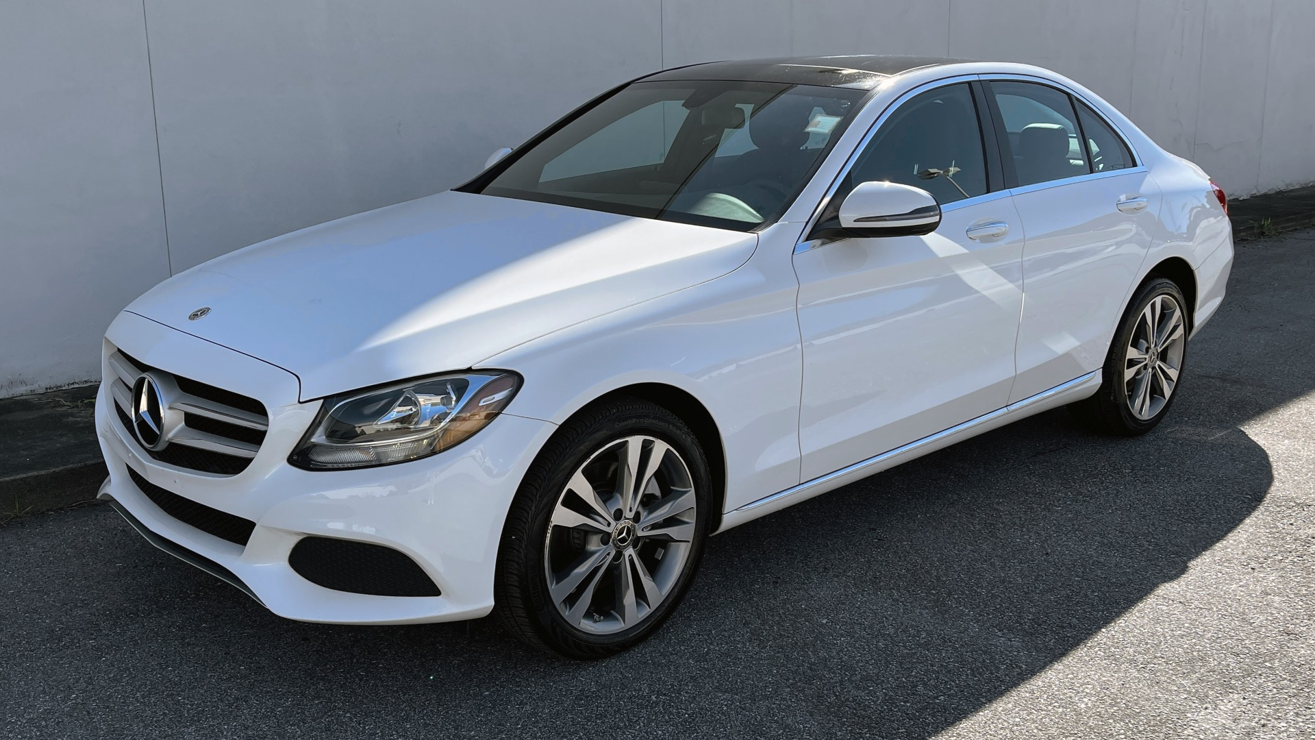 Used 2018 Mercedes-Benz C-CLASS C 300 4MATIC PREMIUM / SMARTPHONE INTEG / PANO-ROOF / REARVIEW for sale $30,995 at Formula Imports in Charlotte NC 28227 2