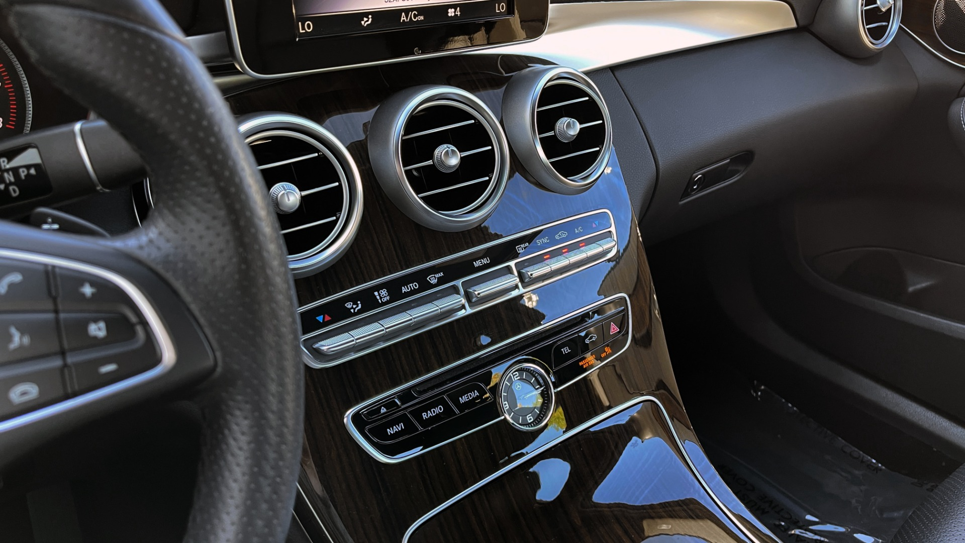 Used 2018 Mercedes-Benz C-CLASS C 300 4MATIC PREMIUM / SMARTPHONE INTEG / PANO-ROOF / REARVIEW for sale $30,995 at Formula Imports in Charlotte NC 28227 38