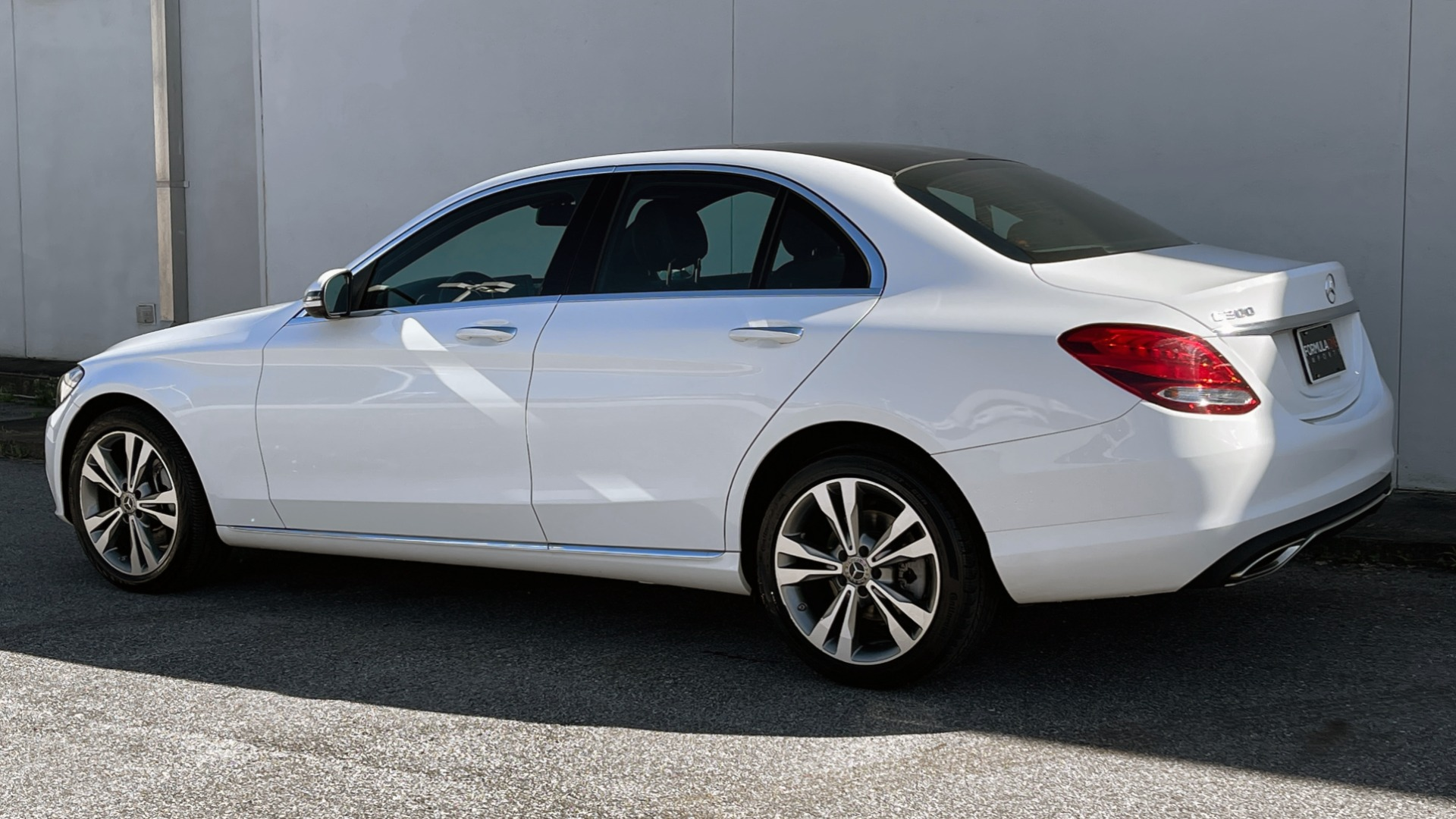 Used 2018 Mercedes-Benz C-CLASS C 300 4MATIC PREMIUM / SMARTPHONE INTEG / PANO-ROOF / REARVIEW for sale $30,995 at Formula Imports in Charlotte NC 28227 4