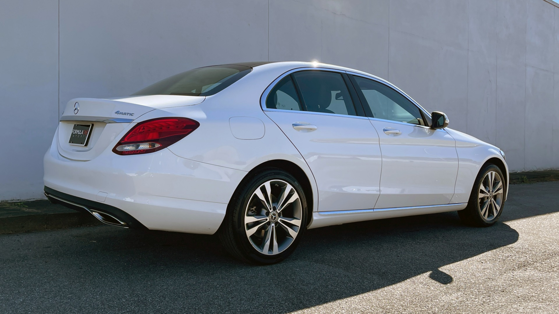 Used 2018 Mercedes-Benz C-CLASS C 300 4MATIC PREMIUM / SMARTPHONE INTEG / PANO-ROOF / REARVIEW for sale $30,995 at Formula Imports in Charlotte NC 28227 5