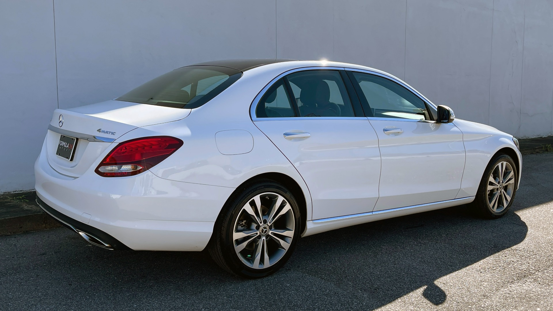 Used 2018 Mercedes-Benz C-CLASS C 300 4MATIC PREMIUM / SMARTPHONE INTEG / PANO-ROOF / REARVIEW for sale $30,995 at Formula Imports in Charlotte NC 28227 8