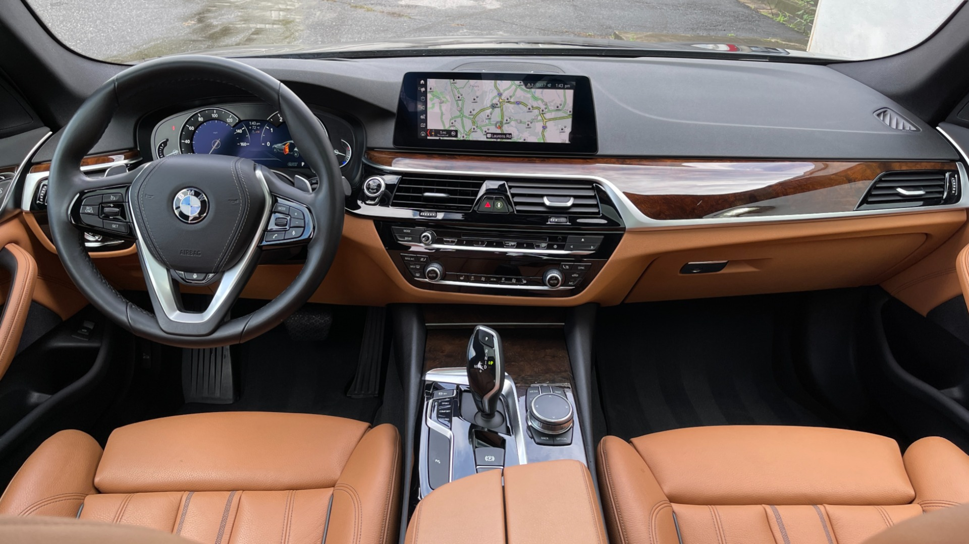 Used 2019 BMW 5 SERIES 530I XDRIVE / CONV PKG / PDC / NAV / SUNROOF / HTD STS / REARIEW for sale $39,595 at Formula Imports in Charlotte NC 28227 52