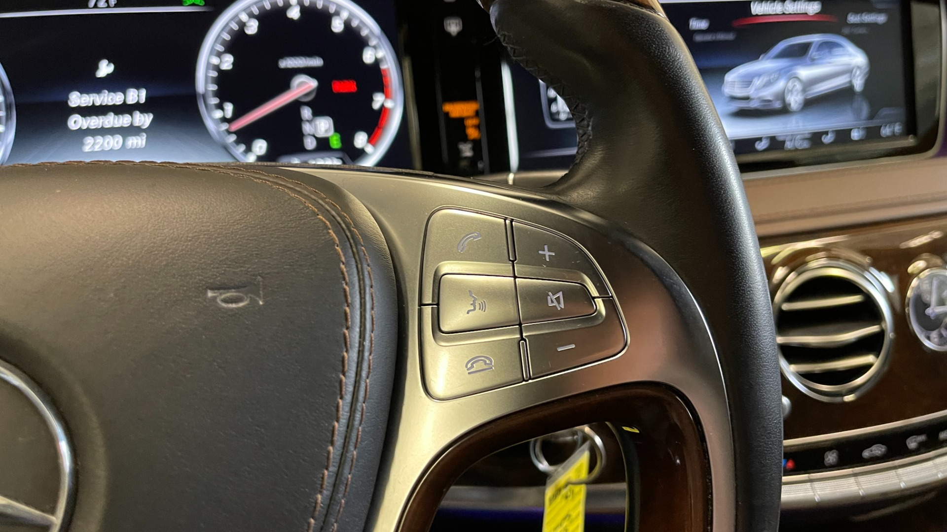 Used 2017 Mercedes-Benz S-CLASS S 550 4MATIC PREMIUM / NAV / BURMESTER / SUNROOF / REARVIEW for sale $58,995 at Formula Imports in Charlotte NC 28227 34