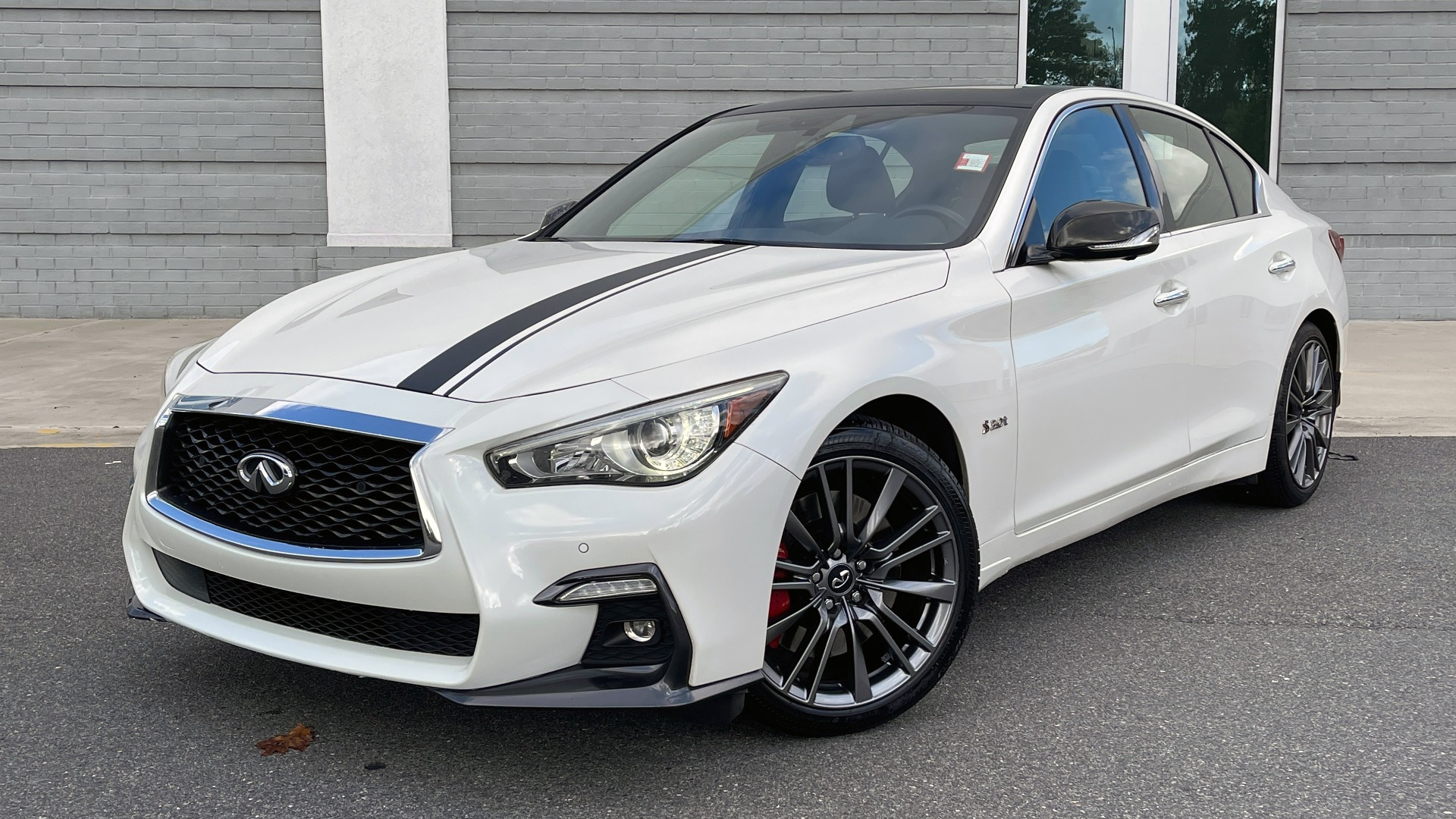 Used 2018 INFINITI Q50 RED SPORT 400 / AWD / PROACTIVE PKG / CF PKG / AW PKG / WELCOME LIGHTING for sale $32,995 at Formula Imports in Charlotte NC 28227 1