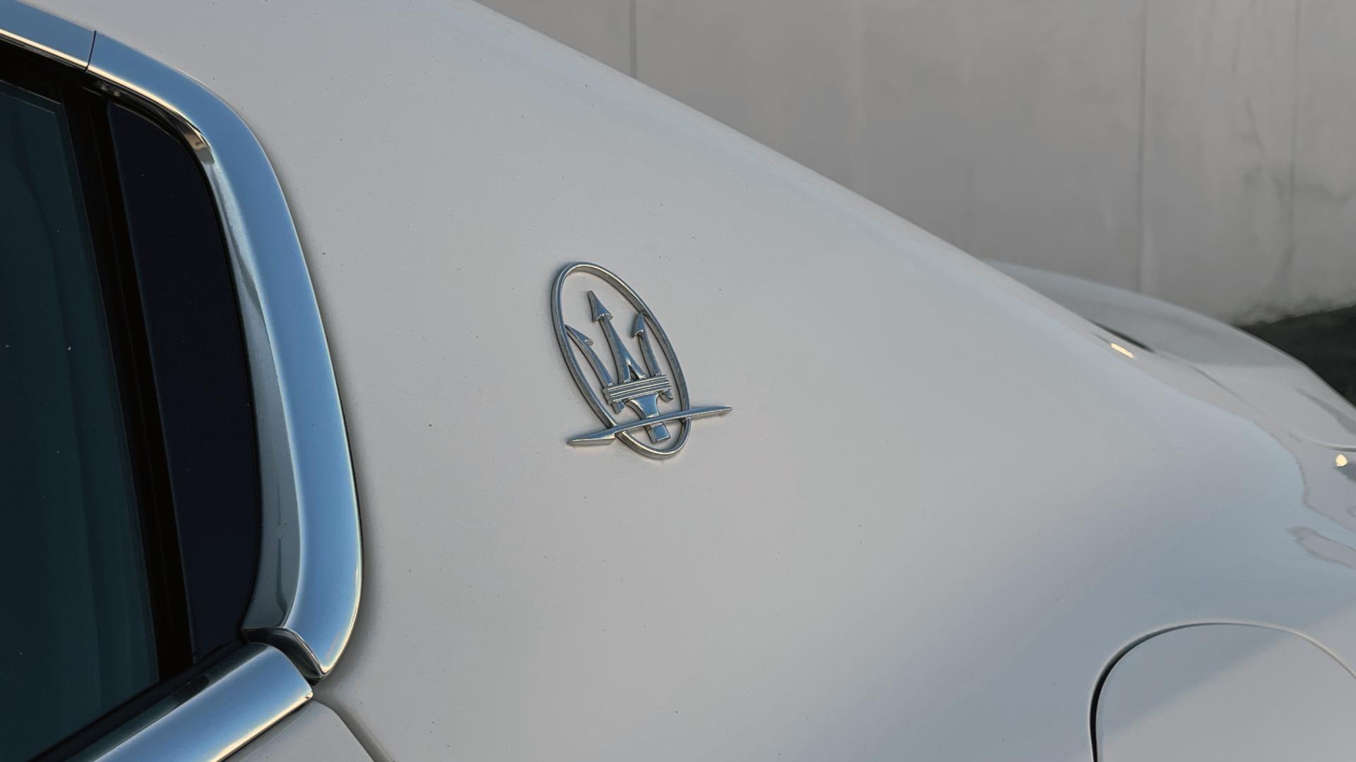 Used 2018 Maserati GHIBLI SEDAN / RWD / 3.0L V6 / SUNROOF / NAV / REARVIEW for sale $42,995 at Formula Imports in Charlotte NC 28227 11