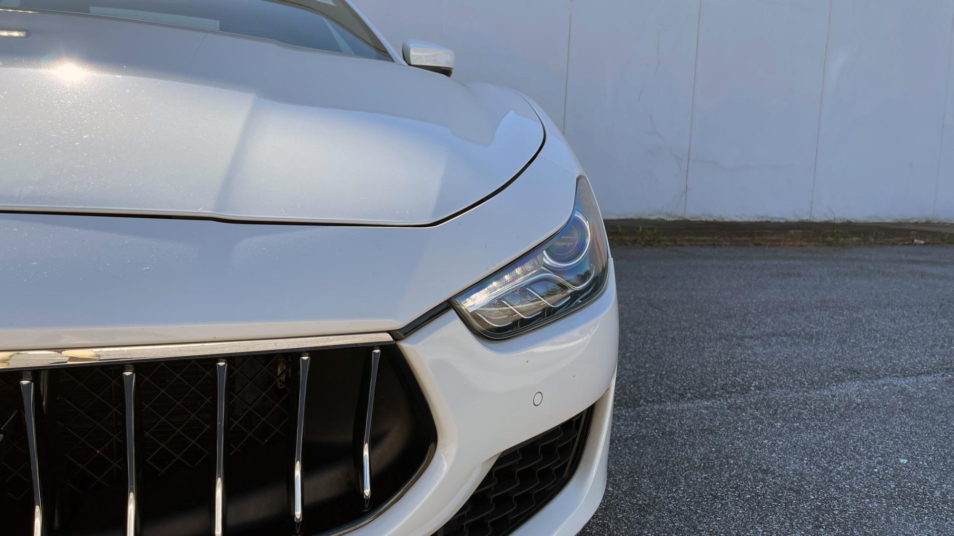Used 2018 Maserati GHIBLI SEDAN / RWD / 3.0L V6 / SUNROOF / NAV / REARVIEW for sale $42,995 at Formula Imports in Charlotte NC 28227 17