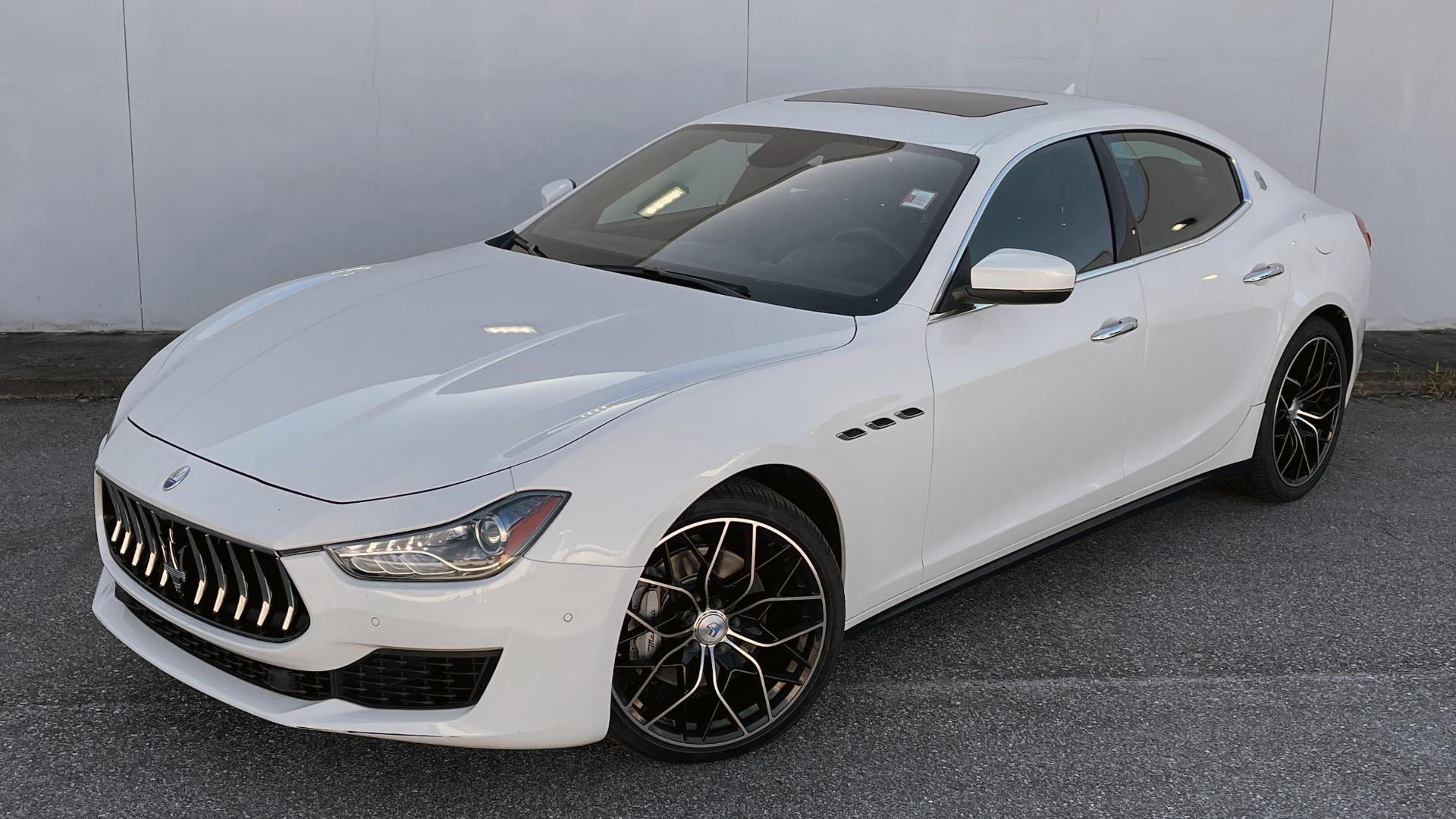 Used 2018 Maserati GHIBLI SEDAN / RWD / 3.0L V6 / SUNROOF / NAV / REARVIEW for sale $42,995 at Formula Imports in Charlotte NC 28227 2