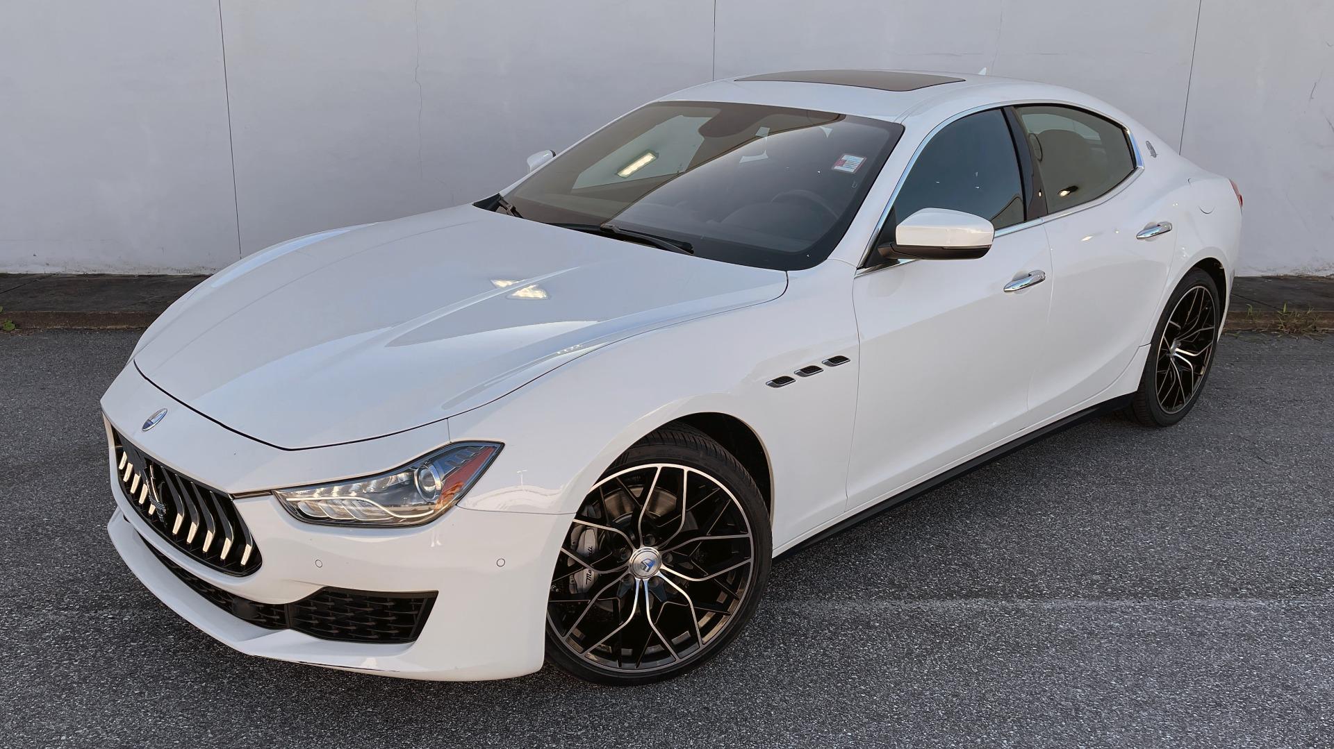 Used 2018 Maserati GHIBLI SEDAN / RWD / 3.0L V6 / SUNROOF / NAV / REARVIEW for sale $42,995 at Formula Imports in Charlotte NC 28227 3