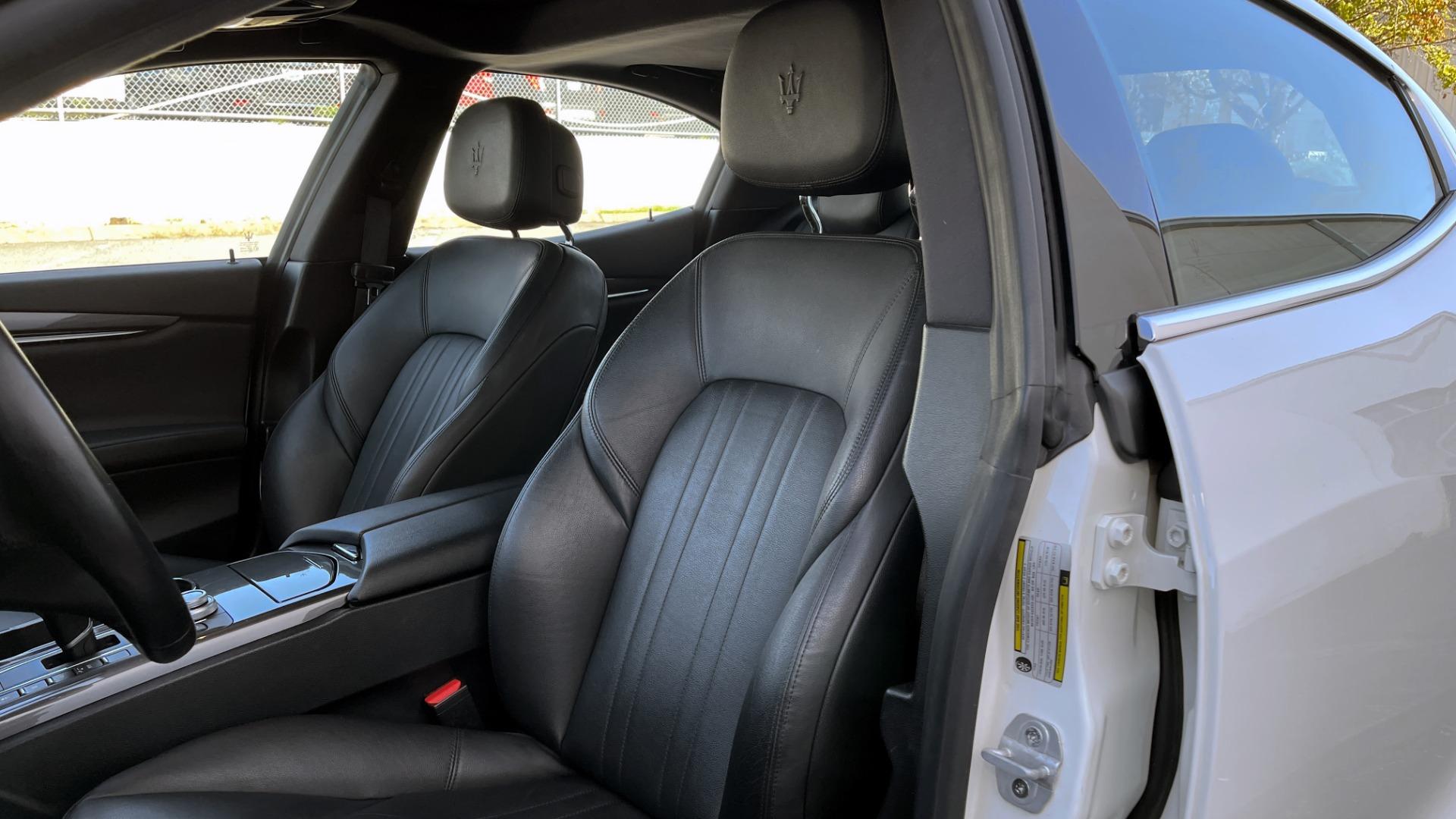 Used 2018 Maserati GHIBLI SEDAN / RWD / 3.0L V6 / SUNROOF / NAV / REARVIEW for sale $42,995 at Formula Imports in Charlotte NC 28227 32