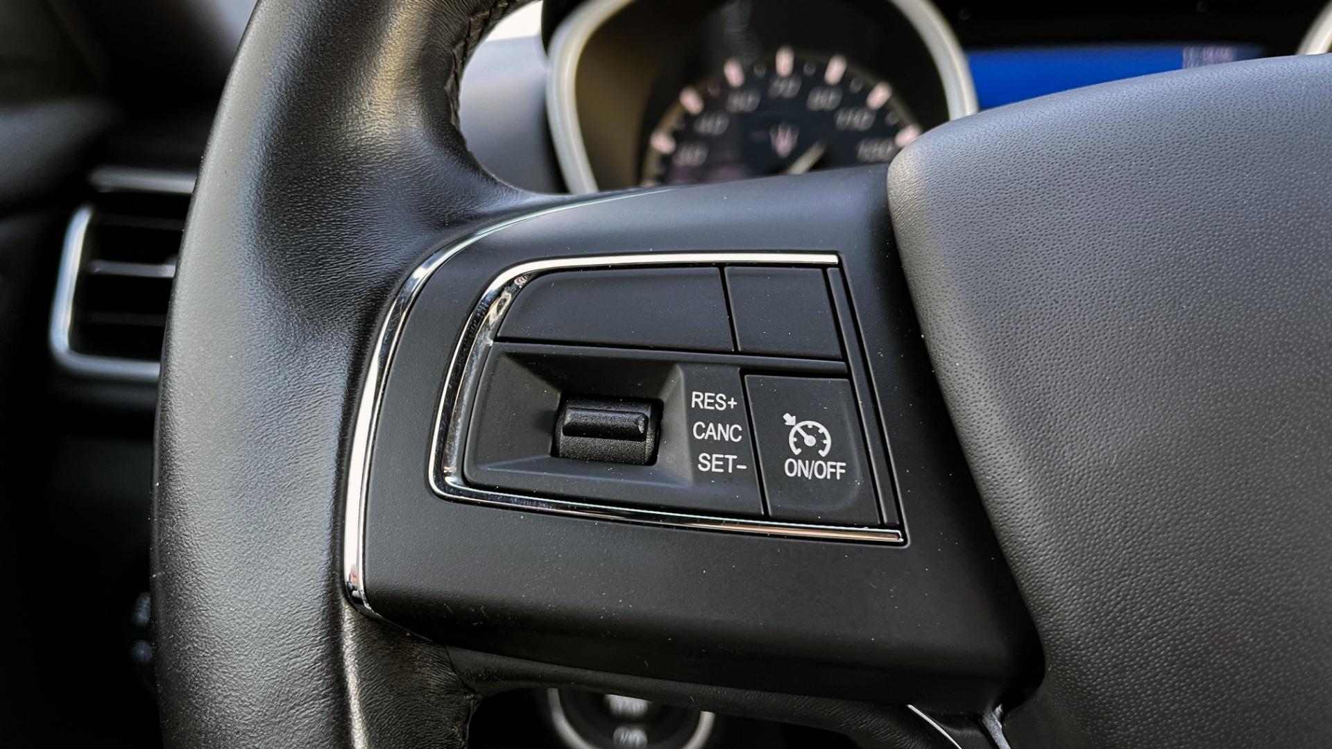 Used 2018 Maserati GHIBLI SEDAN / RWD / 3.0L V6 / SUNROOF / NAV / REARVIEW for sale $42,995 at Formula Imports in Charlotte NC 28227 34