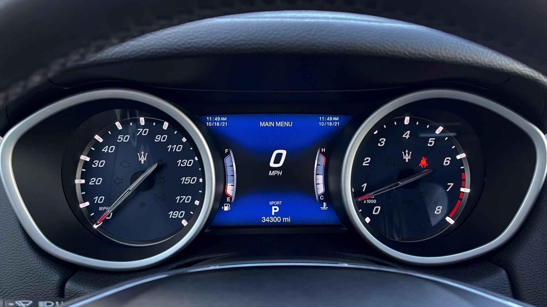Used 2018 Maserati GHIBLI SEDAN / RWD / 3.0L V6 / SUNROOF / NAV / REARVIEW for sale $42,995 at Formula Imports in Charlotte NC 28227 36