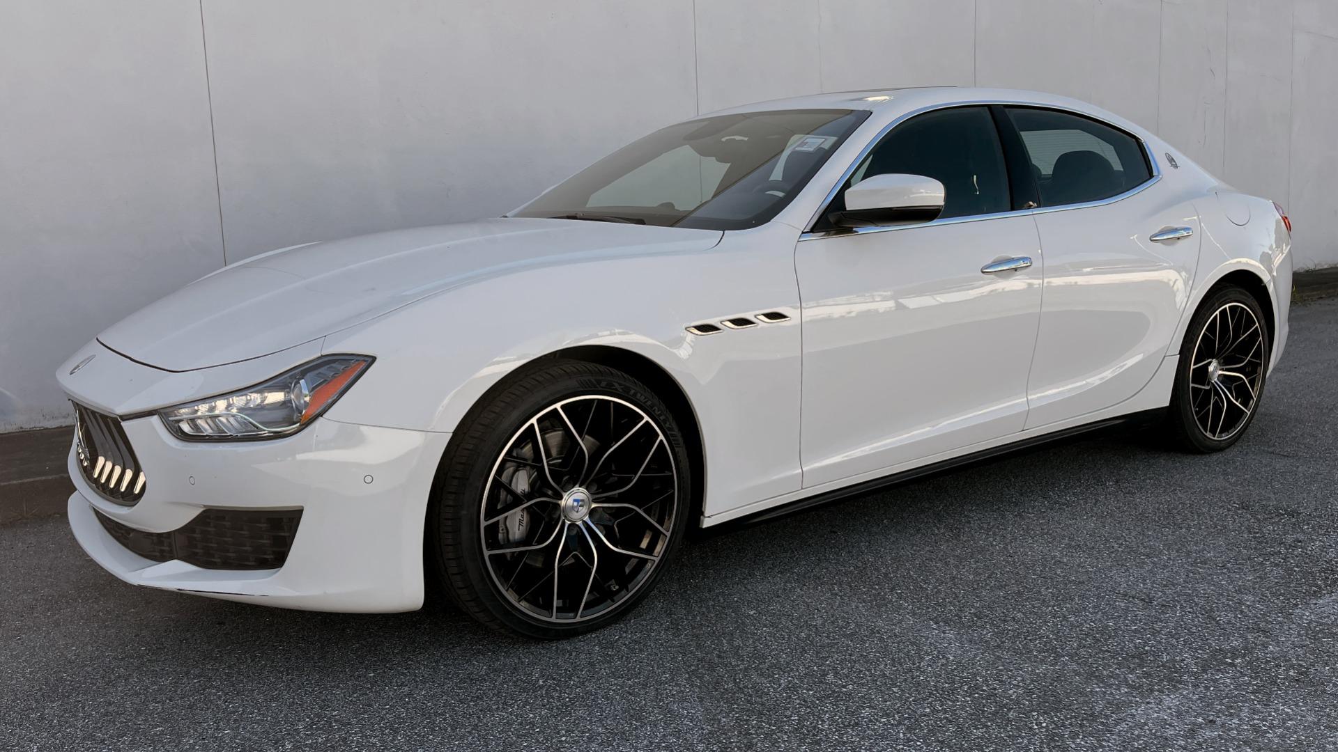 Used 2018 Maserati GHIBLI SEDAN / RWD / 3.0L V6 / SUNROOF / NAV / REARVIEW for sale $42,995 at Formula Imports in Charlotte NC 28227 4
