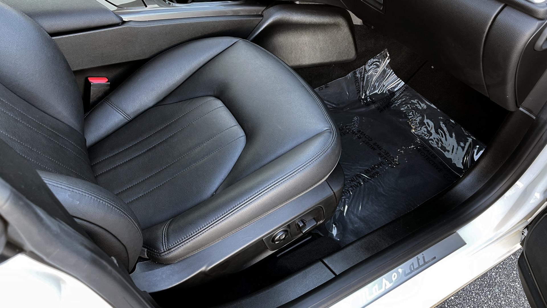 Used 2018 Maserati GHIBLI SEDAN / RWD / 3.0L V6 / SUNROOF / NAV / REARVIEW for sale $42,995 at Formula Imports in Charlotte NC 28227 58