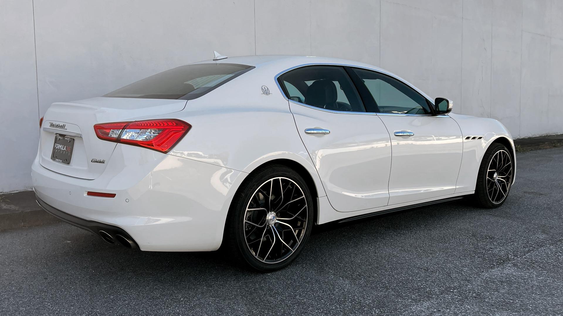 Used 2018 Maserati GHIBLI SEDAN / RWD / 3.0L V6 / SUNROOF / NAV / REARVIEW for sale $42,995 at Formula Imports in Charlotte NC 28227 7