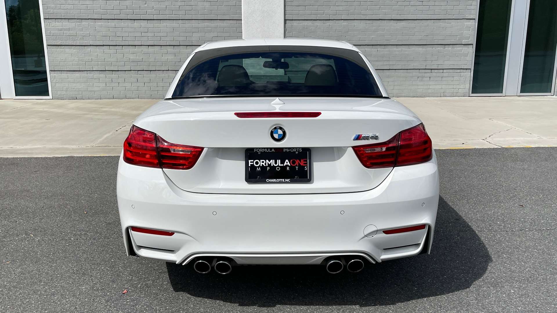 Used 2016 BMW M4 CONVERTIBLE 3.0L / 7-SPD AUTO / EXECUTIVE / ADAPT M SUSP / REARVIEW for sale $53,999 at Formula Imports in Charlotte NC 28227 34