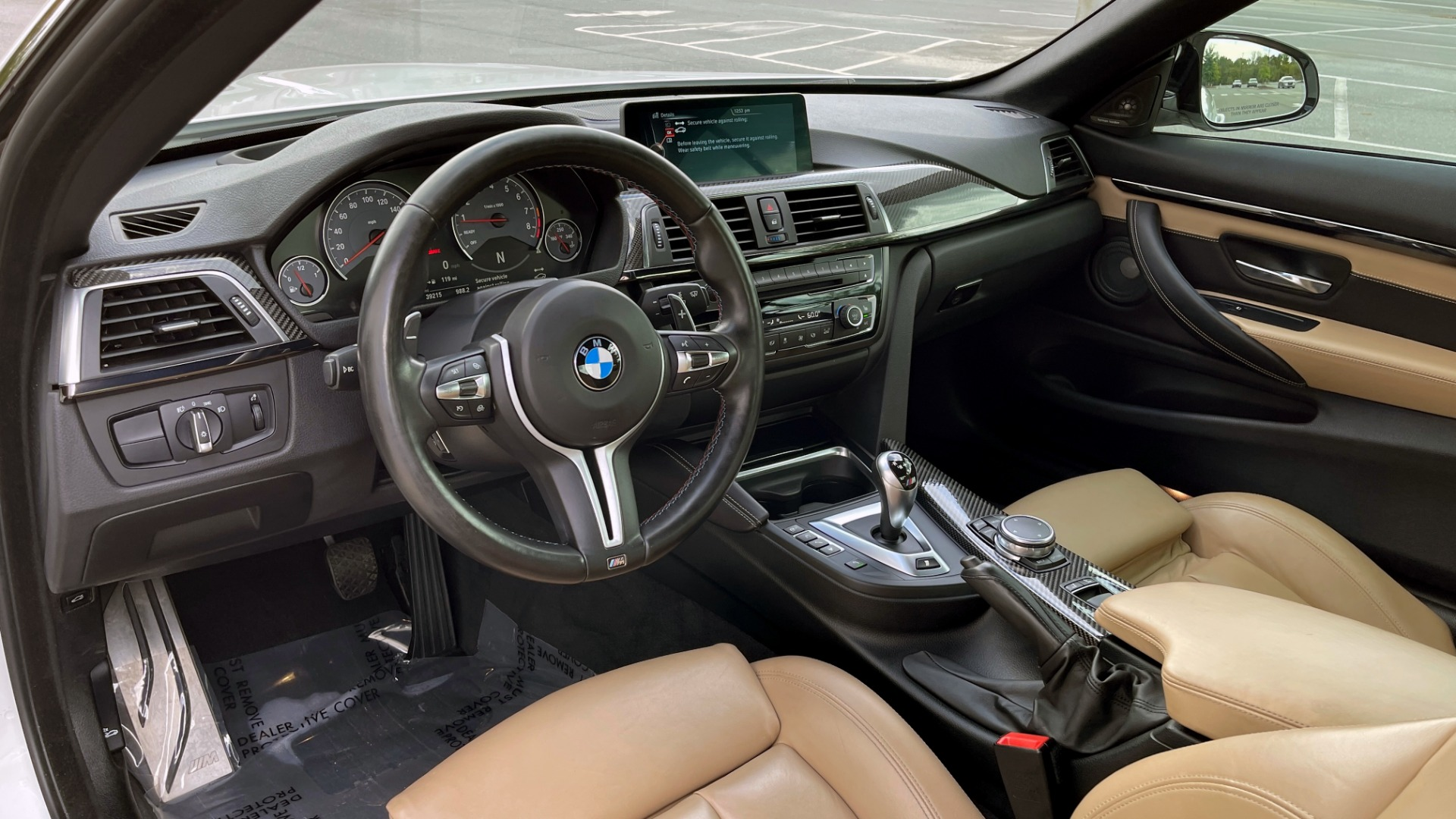 Used 2016 BMW M4 CONVERTIBLE 3.0L / 7-SPD AUTO / EXECUTIVE / ADAPT M SUSP / REARVIEW for sale $53,999 at Formula Imports in Charlotte NC 28227 42