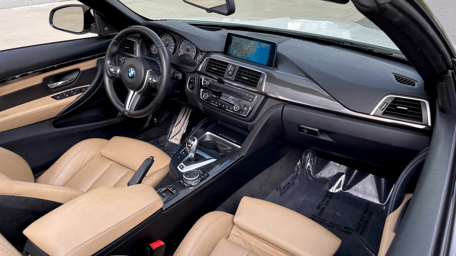 Used 2016 BMW M4 CONVERTIBLE 3.0L / 7-SPD AUTO / EXECUTIVE / ADAPT M SUSP / REARVIEW for sale $53,999 at Formula Imports in Charlotte NC 28227 70