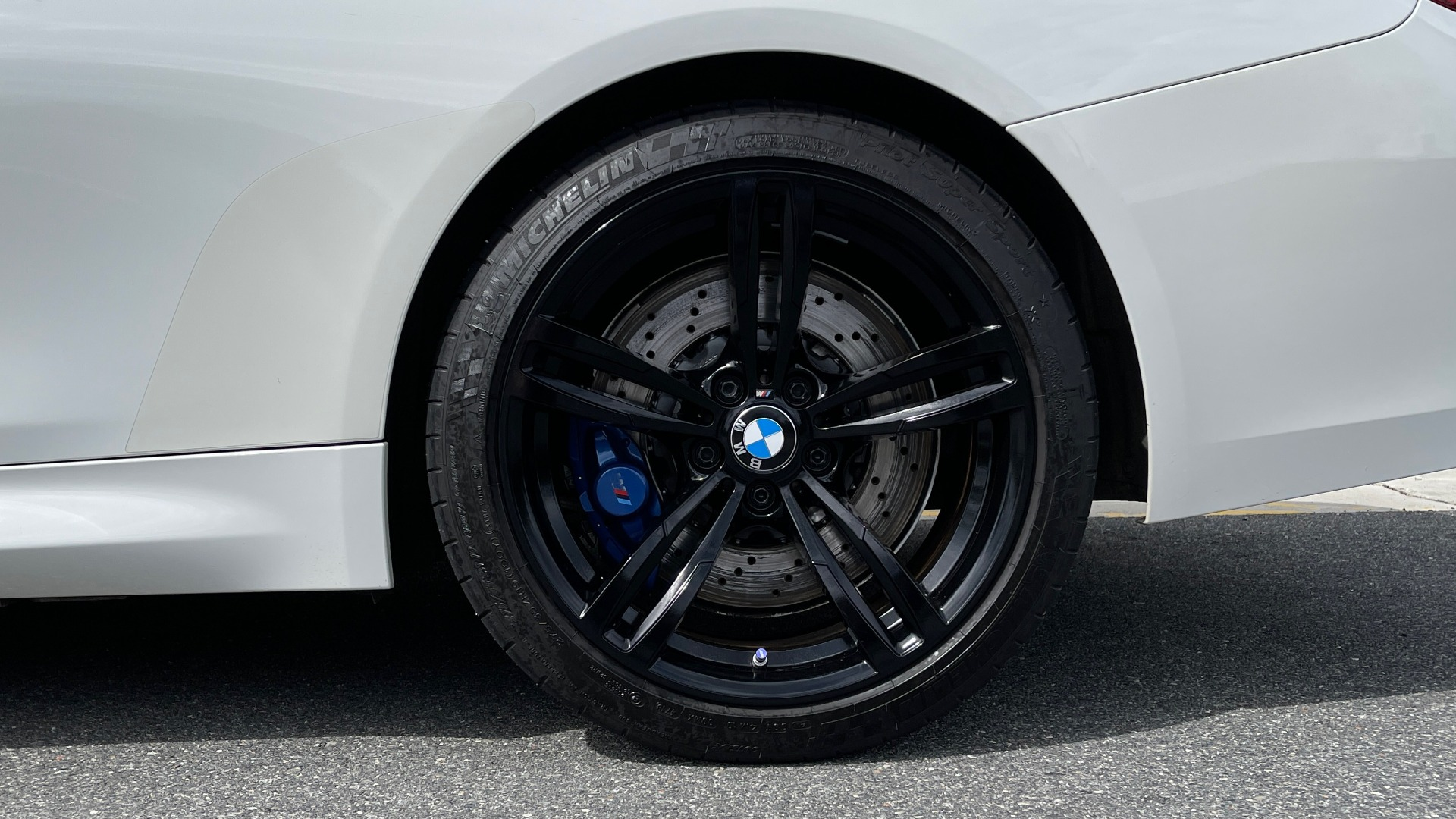 Used 2016 BMW M4 CONVERTIBLE 3.0L / 7-SPD AUTO / EXECUTIVE / ADAPT M SUSP / REARVIEW for sale $53,999 at Formula Imports in Charlotte NC 28227 78