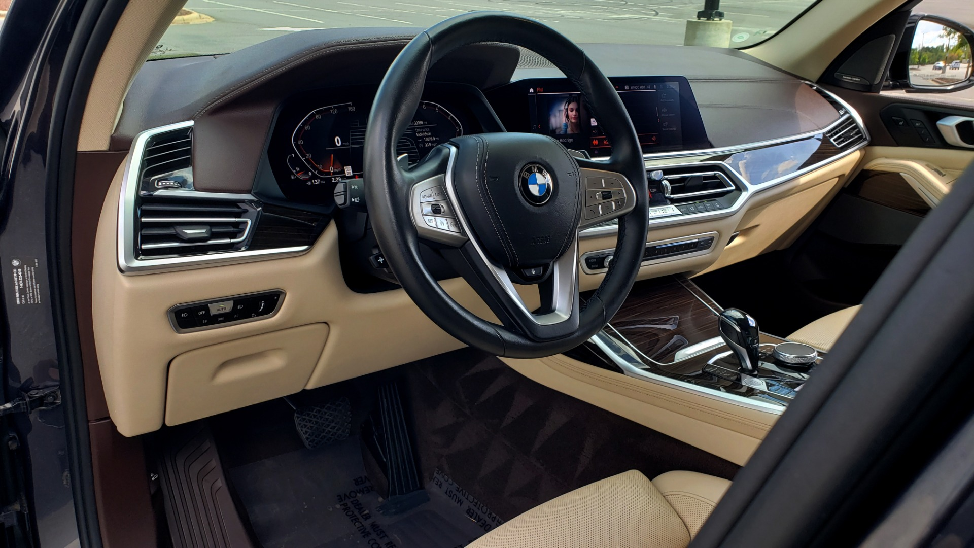 Used 2019 BMW X7 XDRIVE40I PREMIUM / LUXURY / COLD WEATHER / PARK ASST / PANORAMIC SKY / TOW for sale $75,999 at Formula Imports in Charlotte NC 28227 43