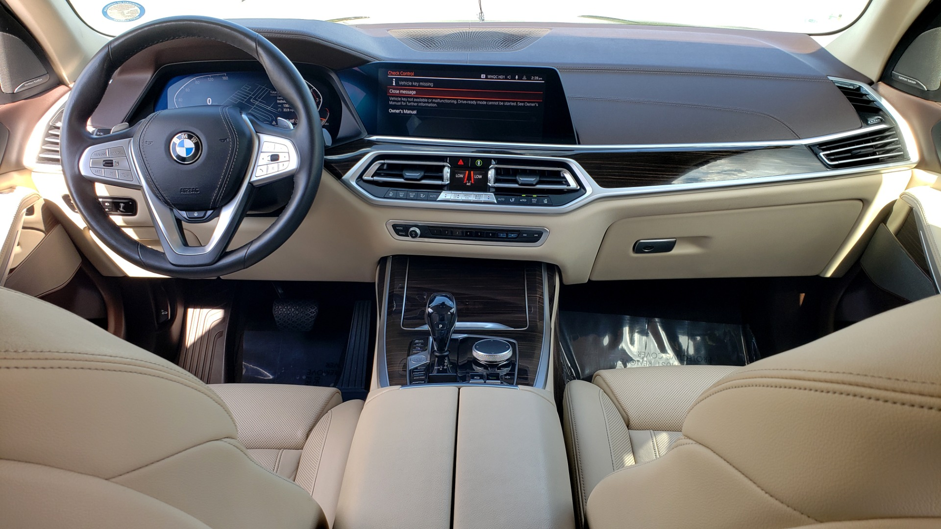 Used 2019 BMW X7 XDRIVE40I PREMIUM / LUXURY / COLD WEATHER / PARK ASST / PANORAMIC SKY / TOW for sale $75,999 at Formula Imports in Charlotte NC 28227 97