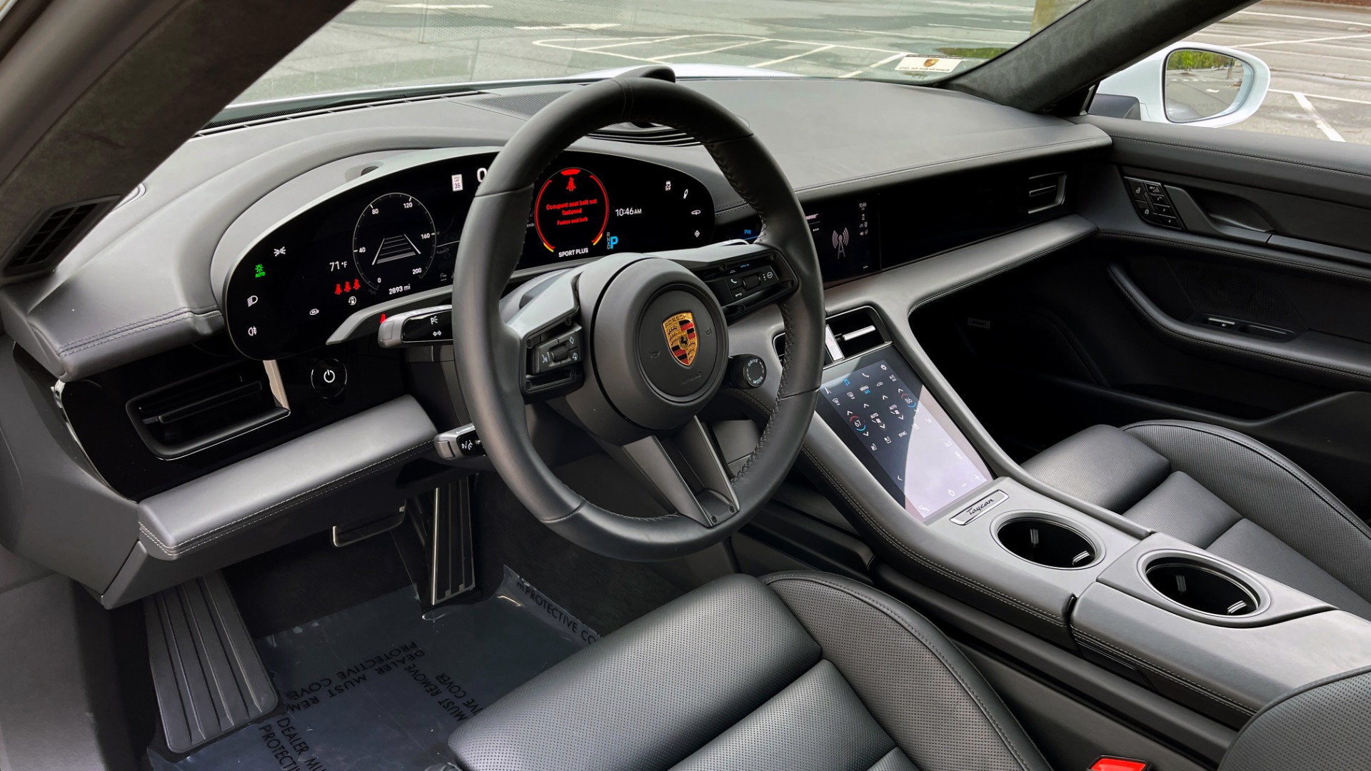 Used 2020 Porsche TAYCAN TURBO SEDAN / AWD / NAV / BOSE / PANO-ROOF / LCA / SURROUND VIEW for sale $162,995 at Formula Imports in Charlotte NC 28227 36