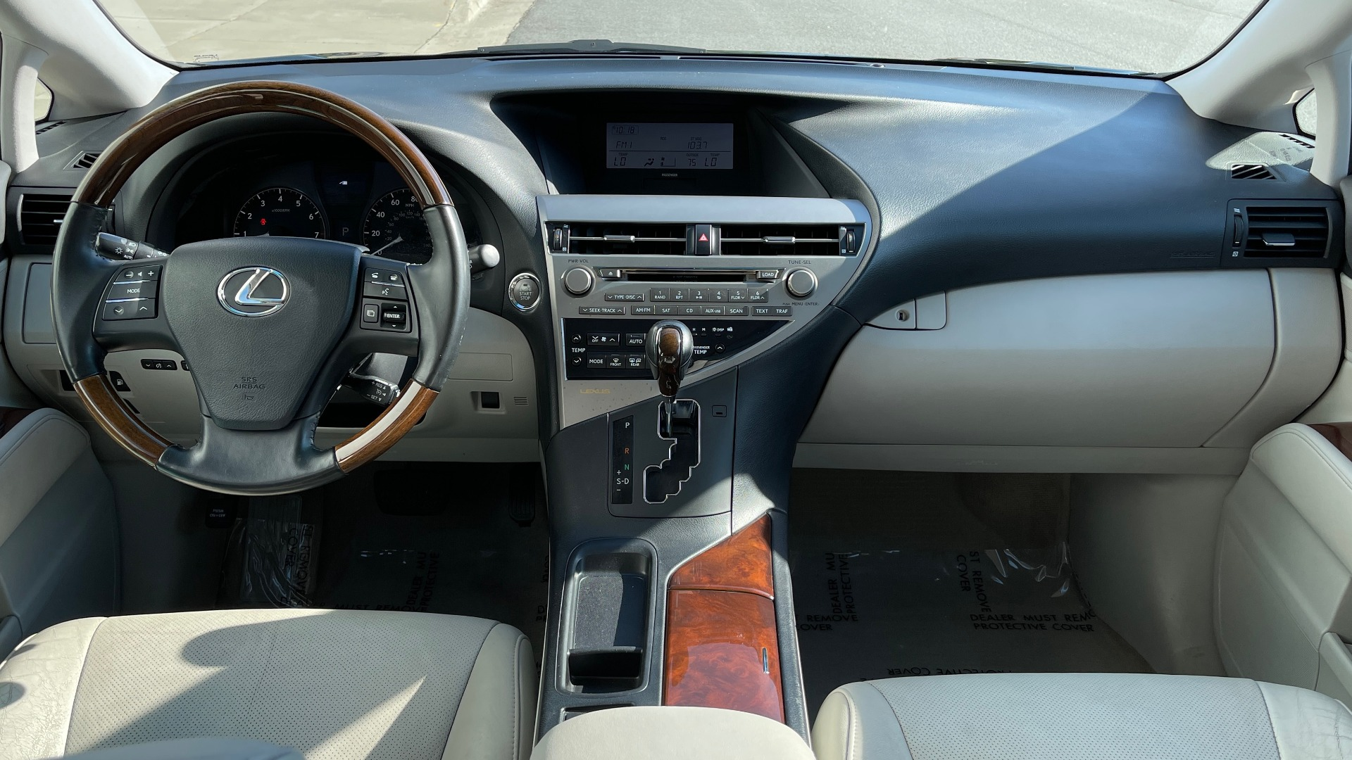 Used 2011 Lexus RX 350 PREMIUM / TOWING PREP PKG / VENTILATED STS / SUNROOF / REARVIEW for sale Sold at Formula Imports in Charlotte NC 28227 51