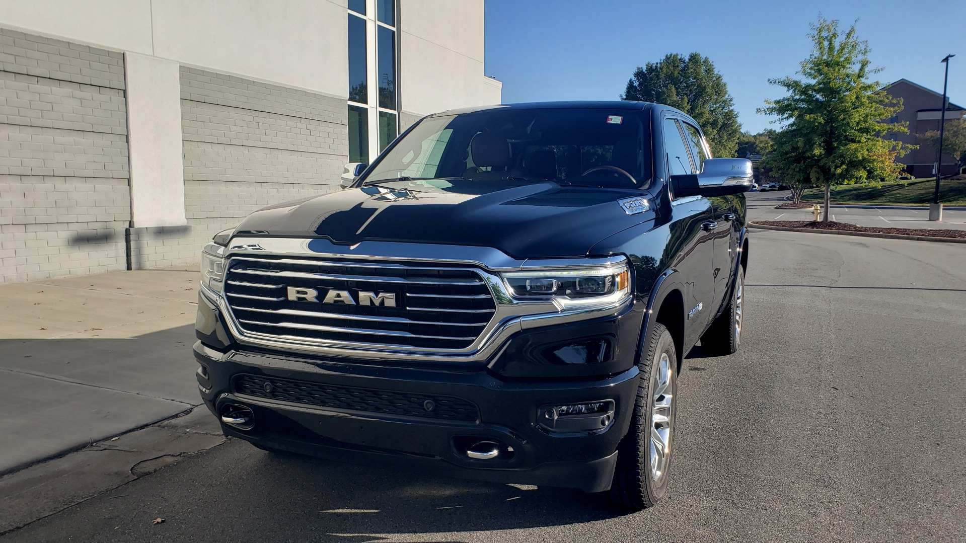 Used 2021 Ram 1500 LONGHORN LIMITED 4X4 / 5.7L HEMI / CREWCAB / H/K SND / PANO-ROOF / REARVIEW for sale $65,999 at Formula Imports in Charlotte NC 28227 2