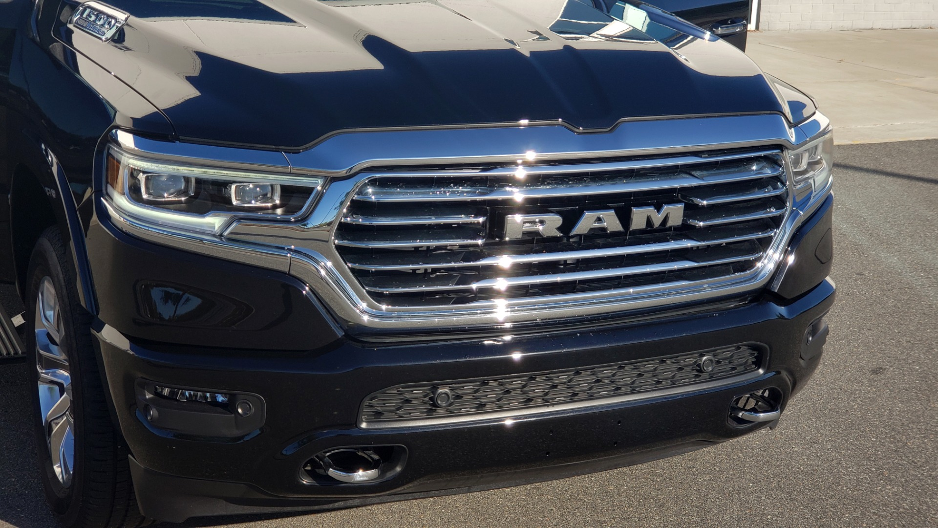 Used 2021 Ram 1500 LONGHORN LIMITED 4X4 / 5.7L HEMI / CREWCAB / H/K SND / PANO-ROOF / REARVIEW for sale $65,999 at Formula Imports in Charlotte NC 28227 24