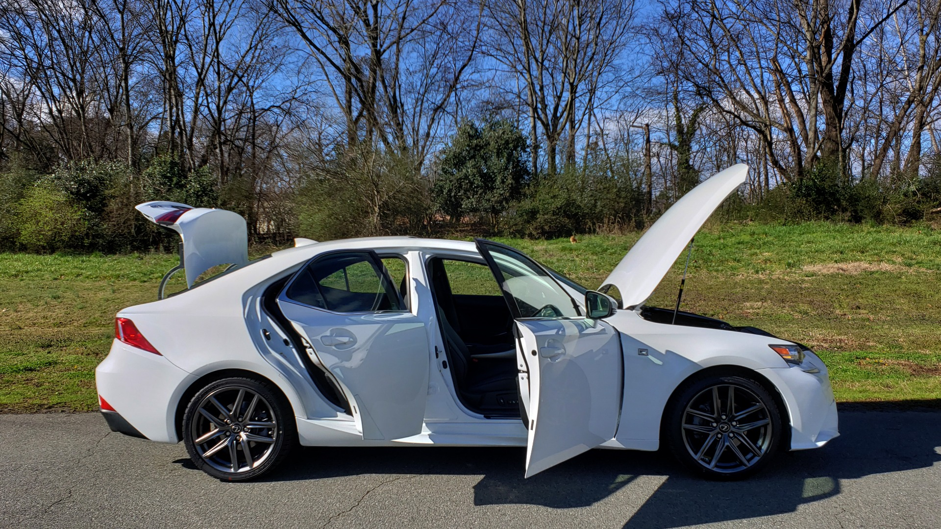 Used 2014 Lexus IS 250 F-SPORT / NAV / SUNROOF / REARVIEW / BSM for sale Sold at Formula Imports in Charlotte NC 28227 10