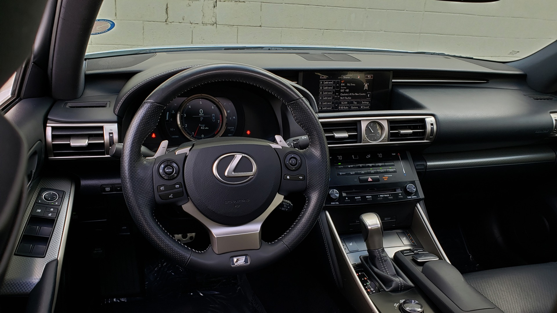 Used 2014 Lexus IS 250 F-SPORT / NAV / SUNROOF / REARVIEW / BSM for sale Sold at Formula Imports in Charlotte NC 28227 32