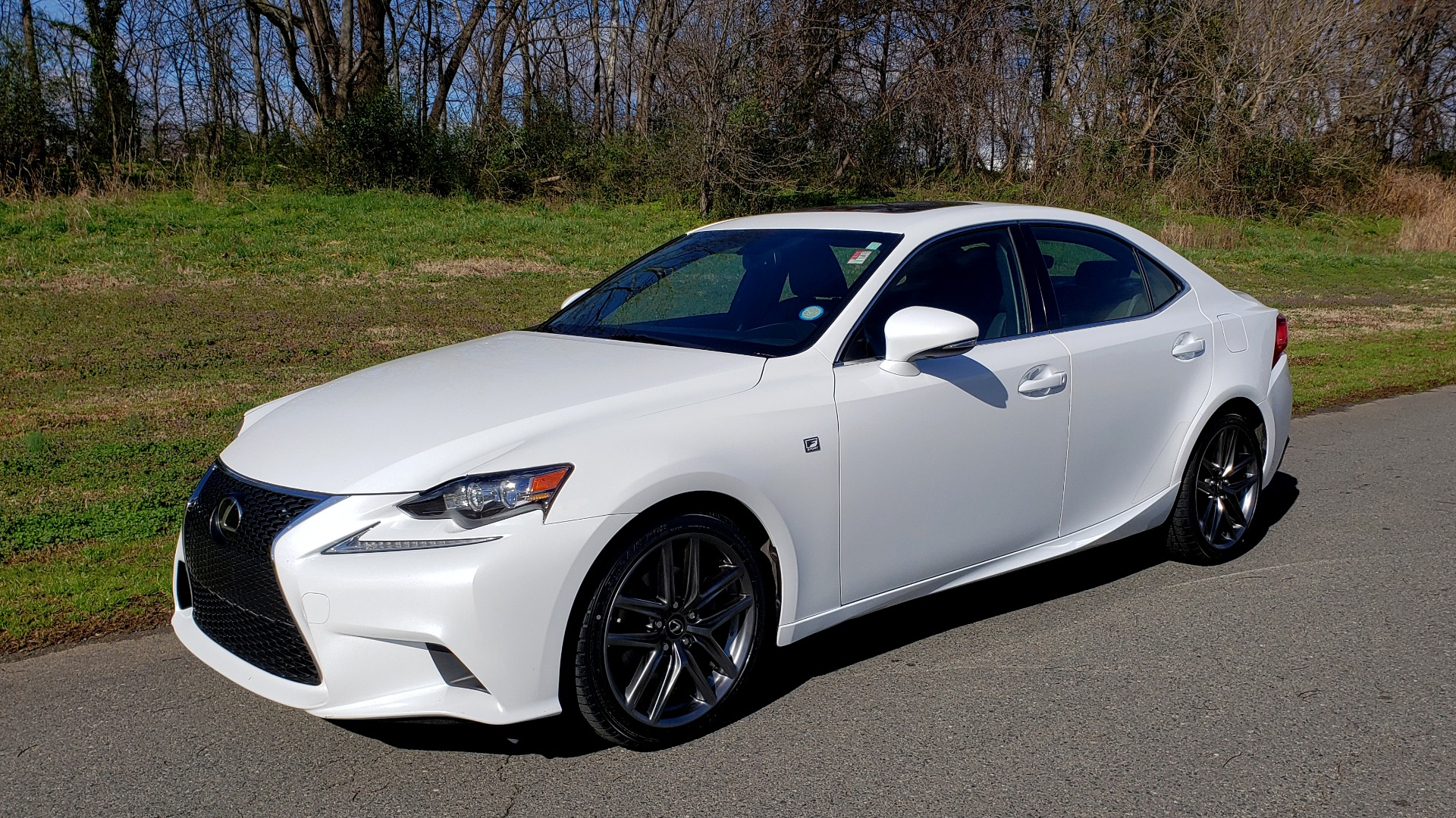 Used 2014 Lexus IS 250 F-SPORT / NAV / SUNROOF / REARVIEW / BSM for sale Sold at Formula Imports in Charlotte NC 28227 1