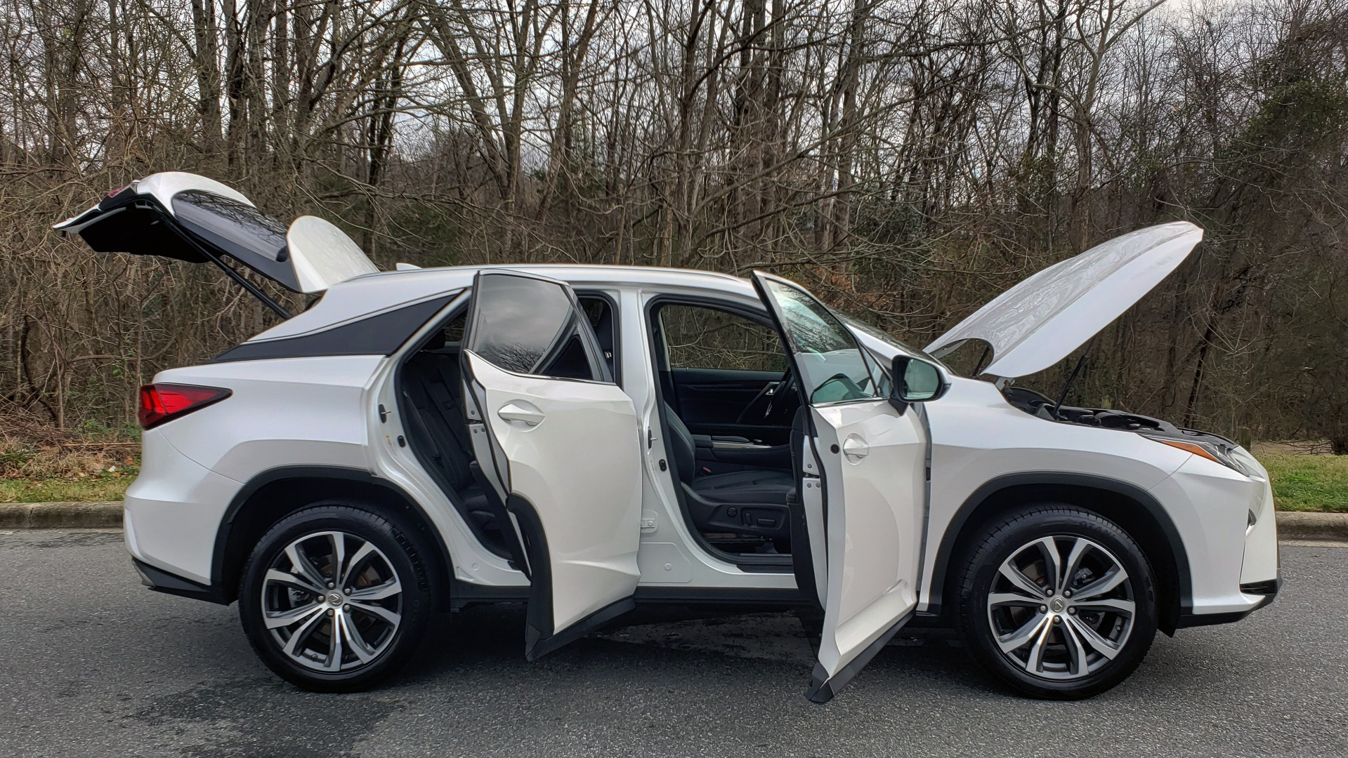 Used 2017 Lexus RX 350 PREMIUM / BSM / SNRF / VENT SEATS / REARVIEW for sale Sold at Formula Imports in Charlotte NC 28227 9