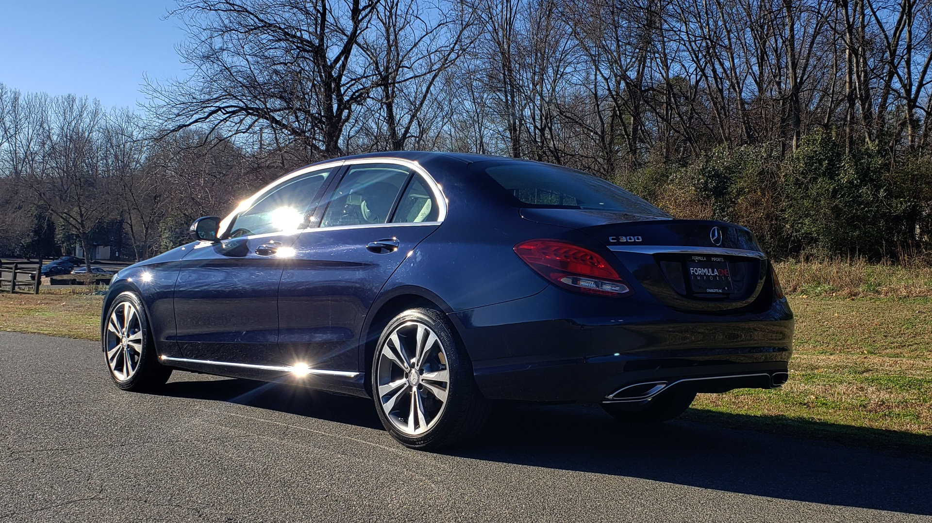 Used 2016 Mercedes-Benz C-Class C 300 PREMIUM / PANO-ROOF / HTD STS / BSA / REARVIEW for sale Sold at Formula Imports in Charlotte NC 28227 3