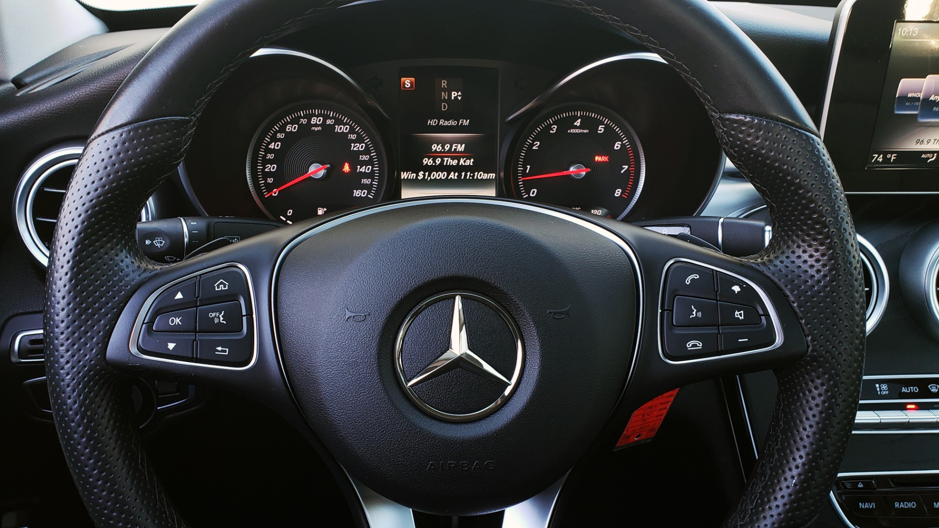 Used 2016 Mercedes-Benz C-Class C 300 PREMIUM / PANO-ROOF / HTD STS / BSA / REARVIEW for sale Sold at Formula Imports in Charlotte NC 28227 34