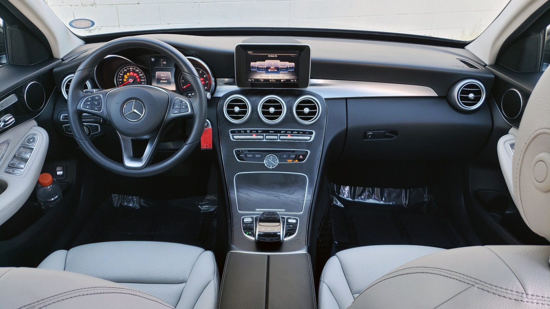 Used 2016 Mercedes-Benz C-Class C 300 PREMIUM / PANO-ROOF / HTD STS / BSA / REARVIEW for sale Sold at Formula Imports in Charlotte NC 28227 68