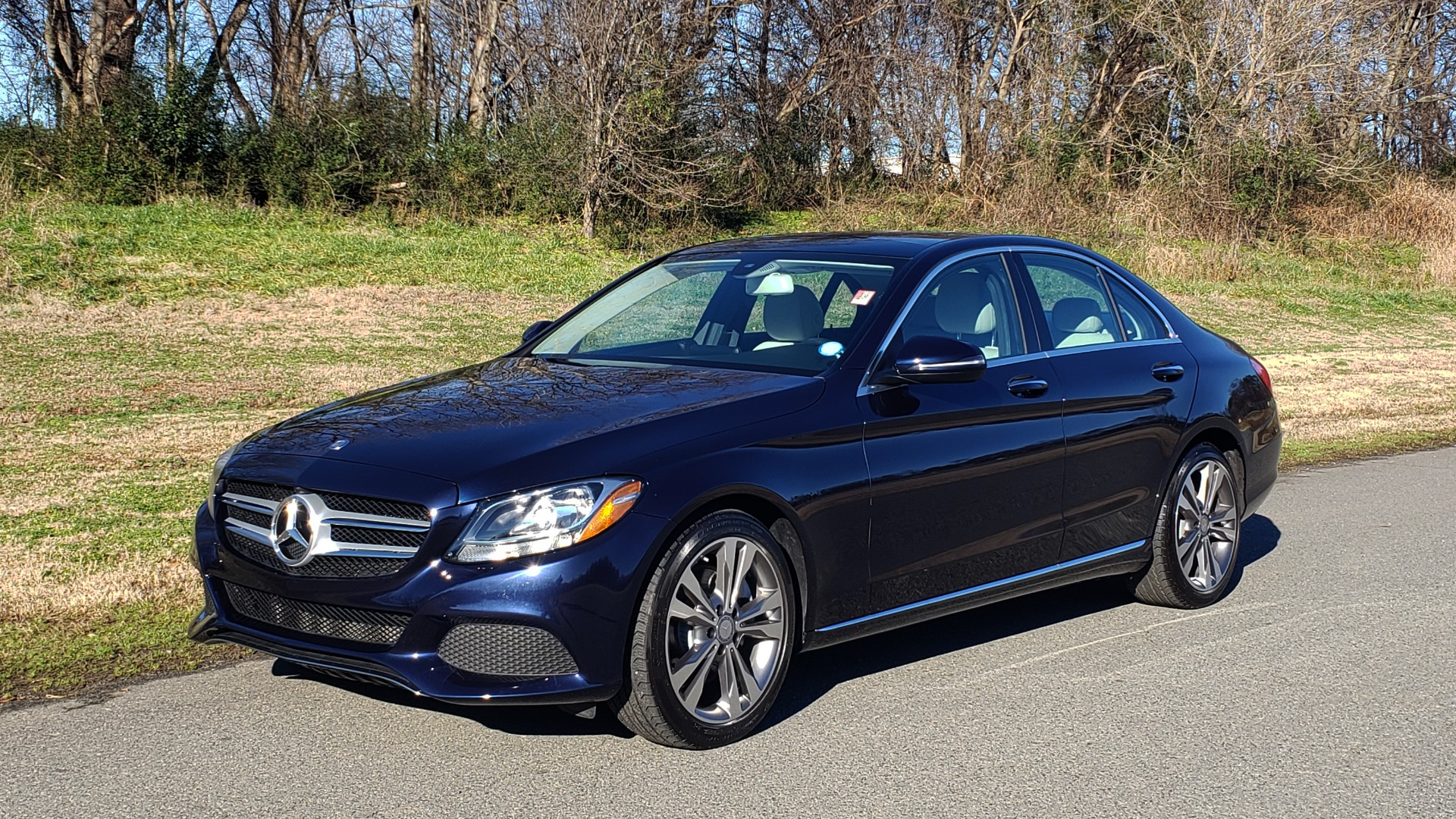 Used 2016 Mercedes-Benz C-Class C 300 PREMIUM / PANO-ROOF / HTD STS / BSA / REARVIEW for sale Sold at Formula Imports in Charlotte NC 28227 1