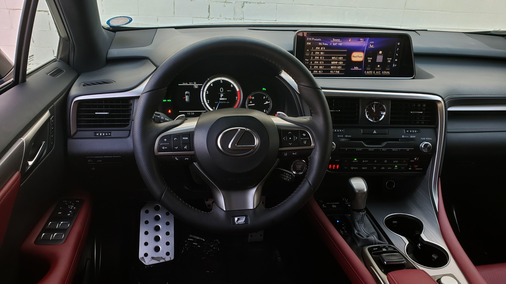 Used 2017 Lexus RX350 AWD F-SPORT / NAV / SUNROOF / BSM / PARK ASST / TOWING / REARVIE for sale Sold at Formula Imports in Charlotte NC 28227 56