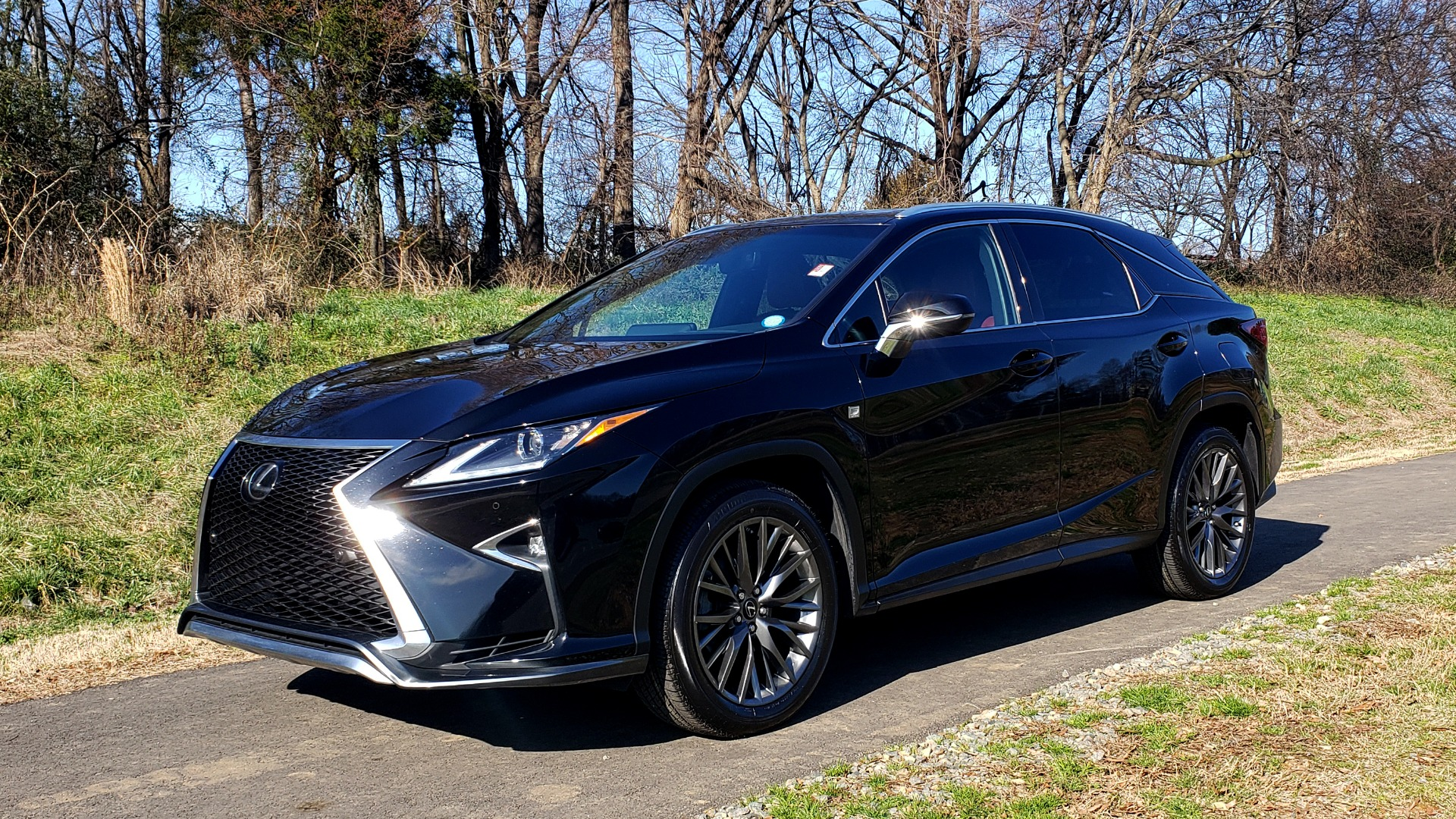 Used 2017 Lexus RX350 AWD F-SPORT / NAV / SUNROOF / BSM / PARK ASST / TOWING / REARVIE for sale Sold at Formula Imports in Charlotte NC 28227 1