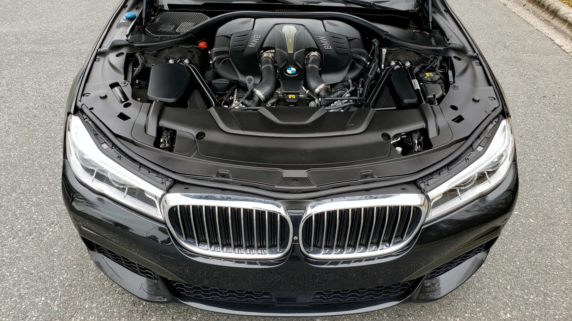 Used 2017 BMW 7 SERIES 750i M-SPORT / AUTOBAHN / EXEC / DRVR ASST PLUS II / CLD WTHR for sale Sold at Formula Imports in Charlotte NC 28227 10