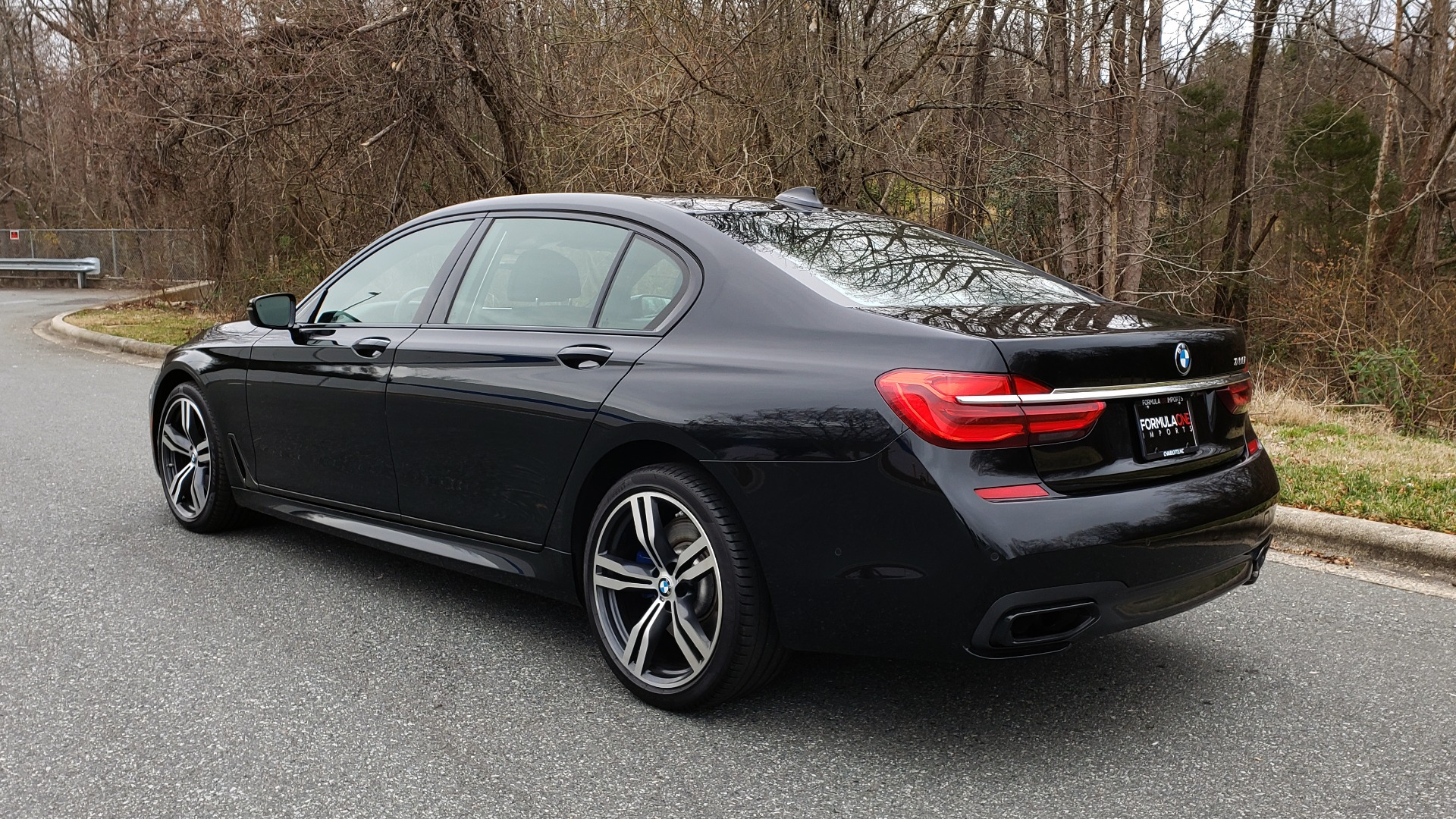 Used 2017 BMW 7 SERIES 750i M-SPORT / AUTOBAHN / EXEC / DRVR ASST PLUS II / CLD WTHR for sale Sold at Formula Imports in Charlotte NC 28227 3