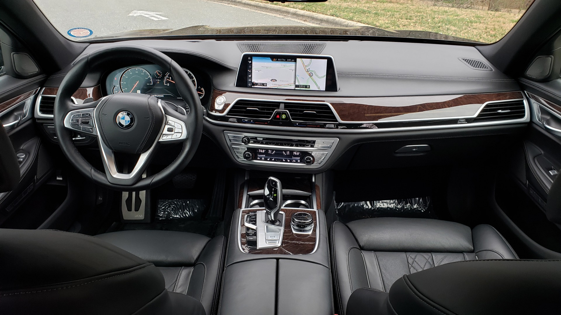 Used 2017 BMW 7 SERIES 750i M-SPORT / AUTOBAHN / EXEC / DRVR ASST PLUS II / CLD WTHR for sale Sold at Formula Imports in Charlotte NC 28227 78
