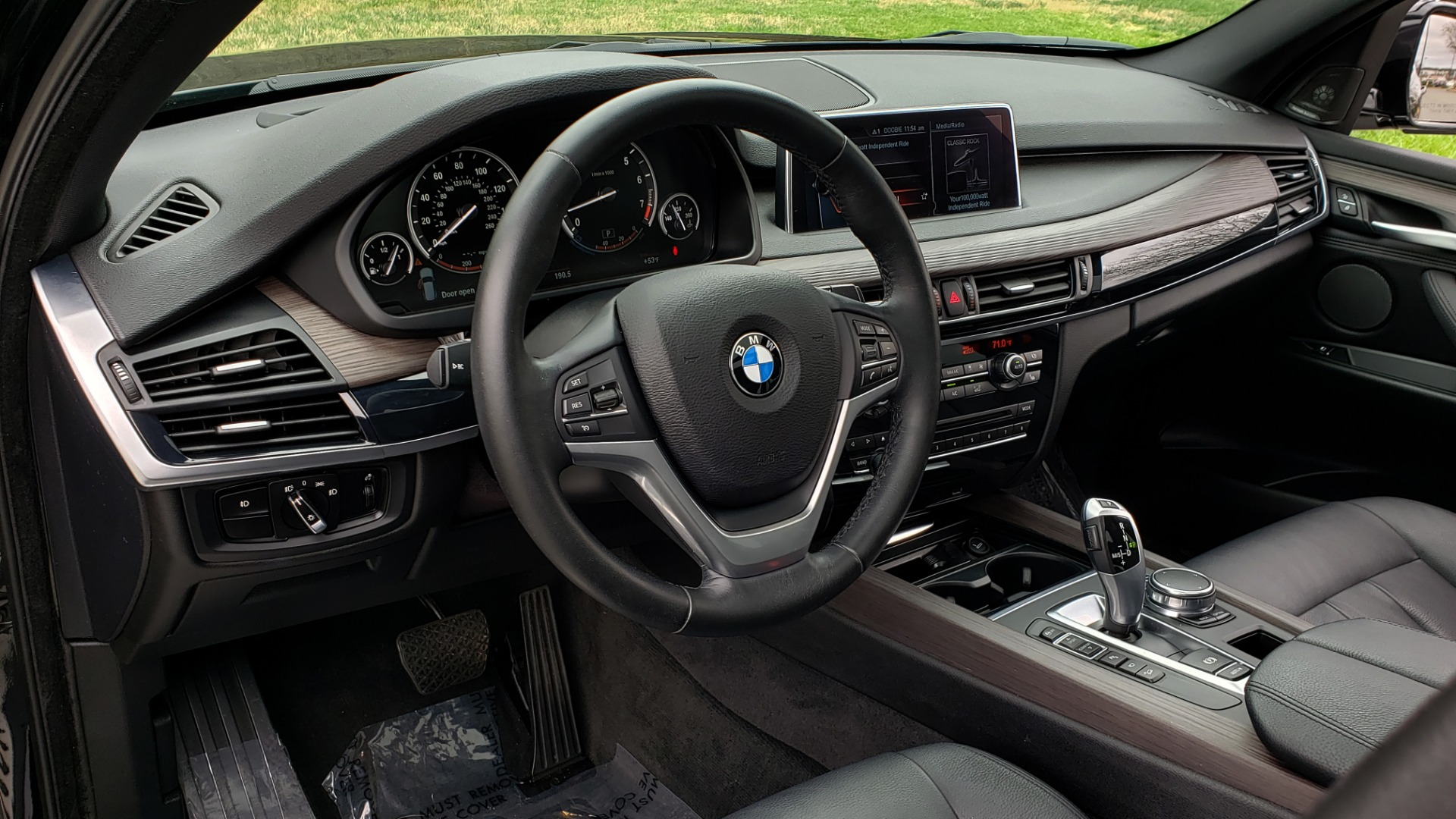 Used 2017 BMW X5 XDRIVE35I / PREM LUX PKG / DRVR ASST / CLD WTHR / APPLE CAR PLAY for sale Sold at Formula Imports in Charlotte NC 28227 38