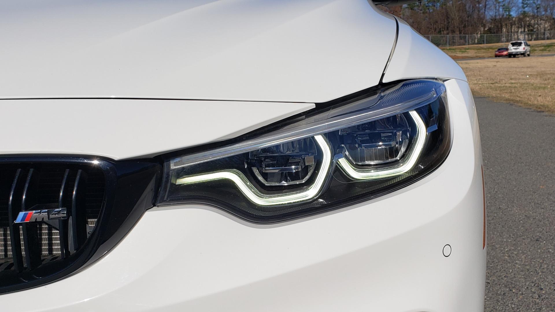 Used 2018 BMW M4 COMP PKG / EXEC / M-DRIVER / PARK CNTRL / ACTIVE BLIND SPOT for sale Sold at Formula Imports in Charlotte NC 28227 14