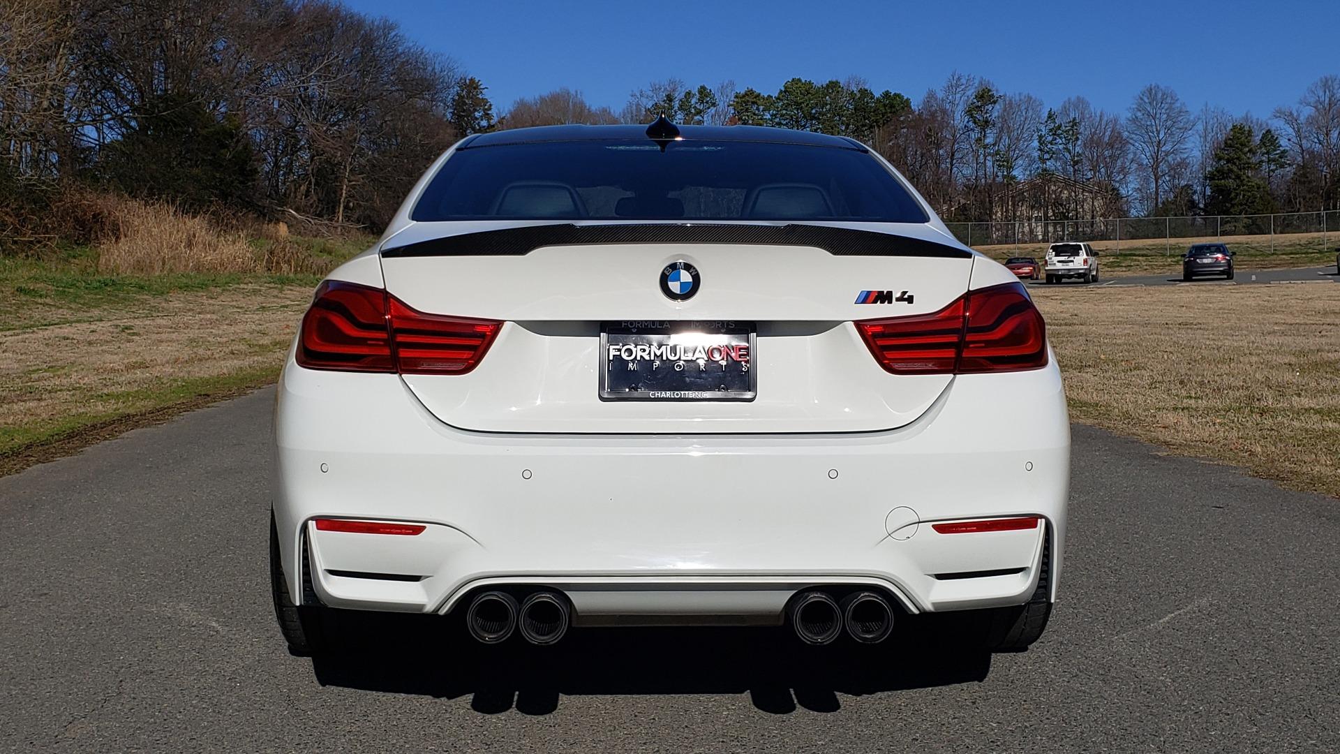 Used 2018 BMW M4 COMP PKG / EXEC / M-DRIVER / PARK CNTRL / ACTIVE BLIND SPOT for sale Sold at Formula Imports in Charlotte NC 28227 27
