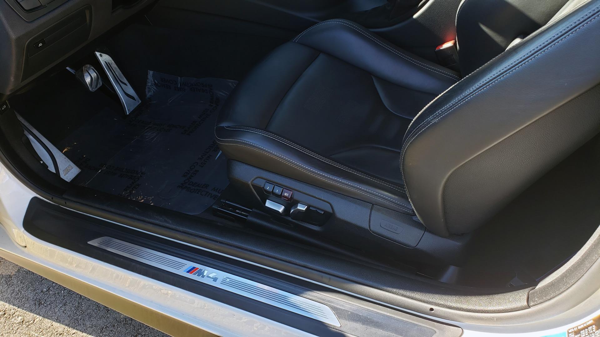 Used 2018 BMW M4 COMP PKG / EXEC / M-DRIVER / PARK CNTRL / ACTIVE BLIND SPOT for sale Sold at Formula Imports in Charlotte NC 28227 36