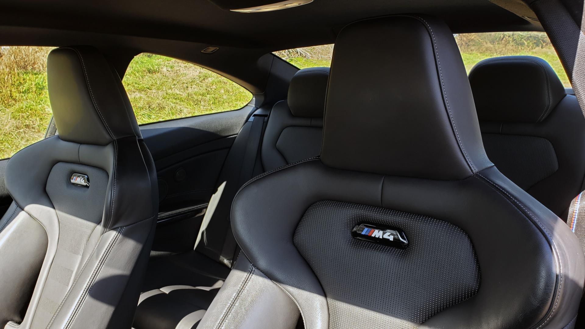 Used 2018 BMW M4 COMP PKG / EXEC / M-DRIVER / PARK CNTRL / ACTIVE BLIND SPOT for sale $45,449 at Formula Imports in Charlotte NC 28227 38