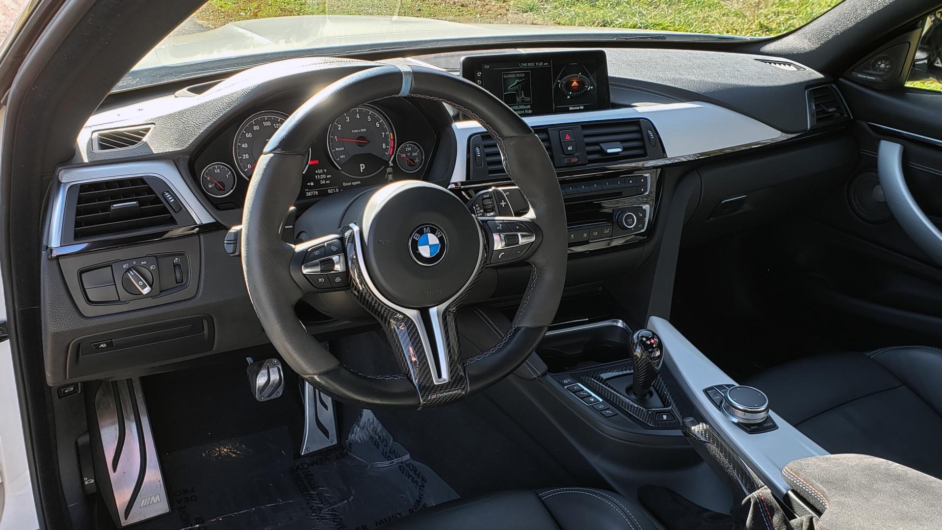 Used 2018 BMW M4 COMP PKG / EXEC / M-DRIVER / PARK CNTRL / ACTIVE BLIND SPOT for sale $45,449 at Formula Imports in Charlotte NC 28227 39