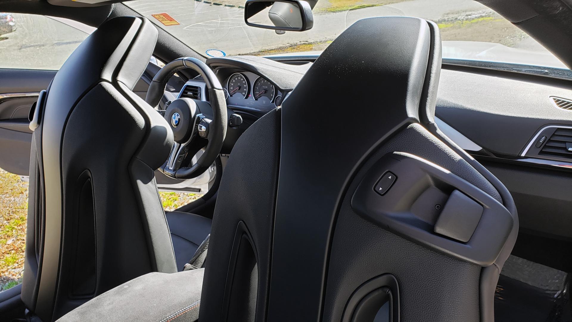 Used 2018 BMW M4 COMP PKG / EXEC / M-DRIVER / PARK CNTRL / ACTIVE BLIND SPOT for sale $45,449 at Formula Imports in Charlotte NC 28227 62